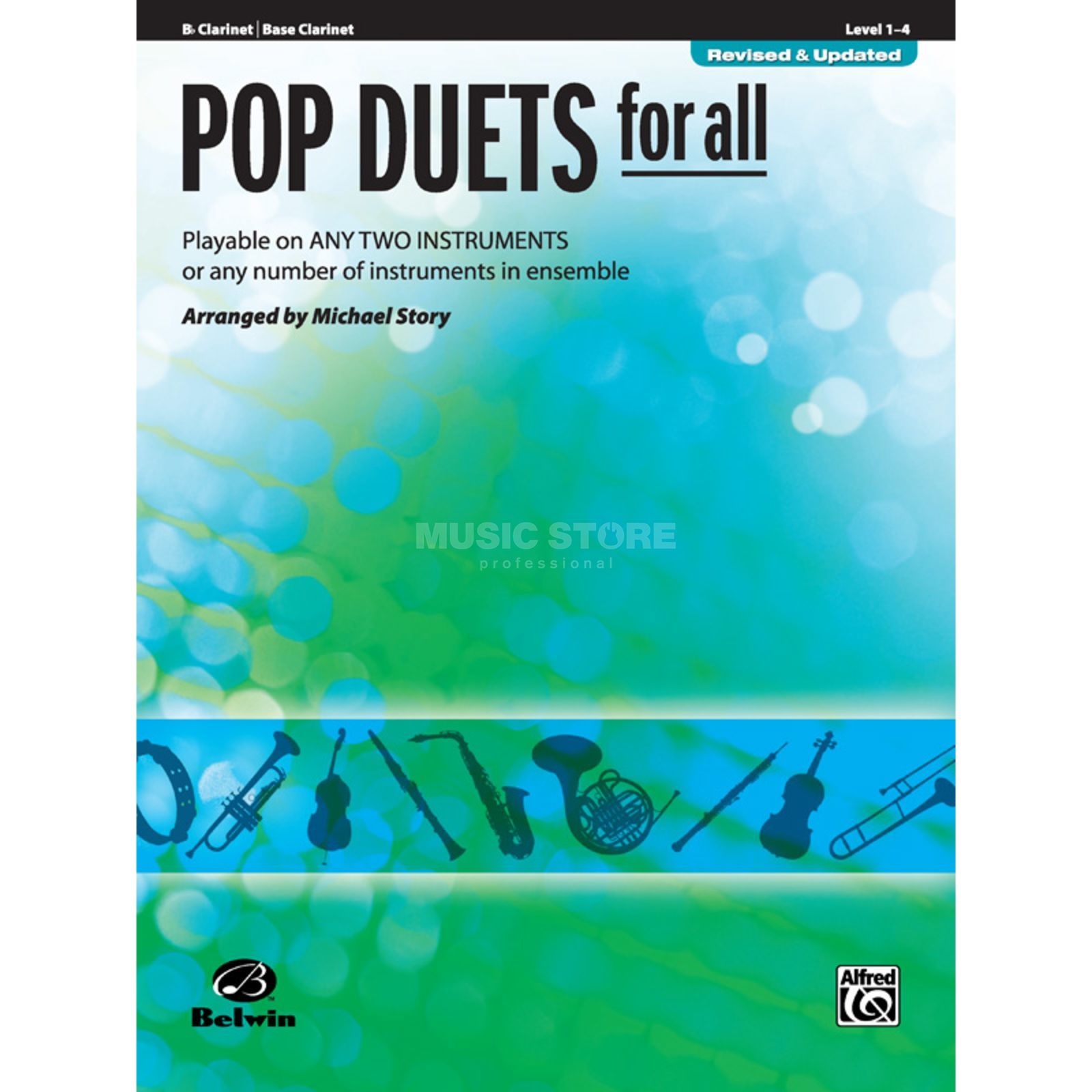 Alfred Music Pop Duets for All - Clarinet Mixed Ensemble Produktbillede