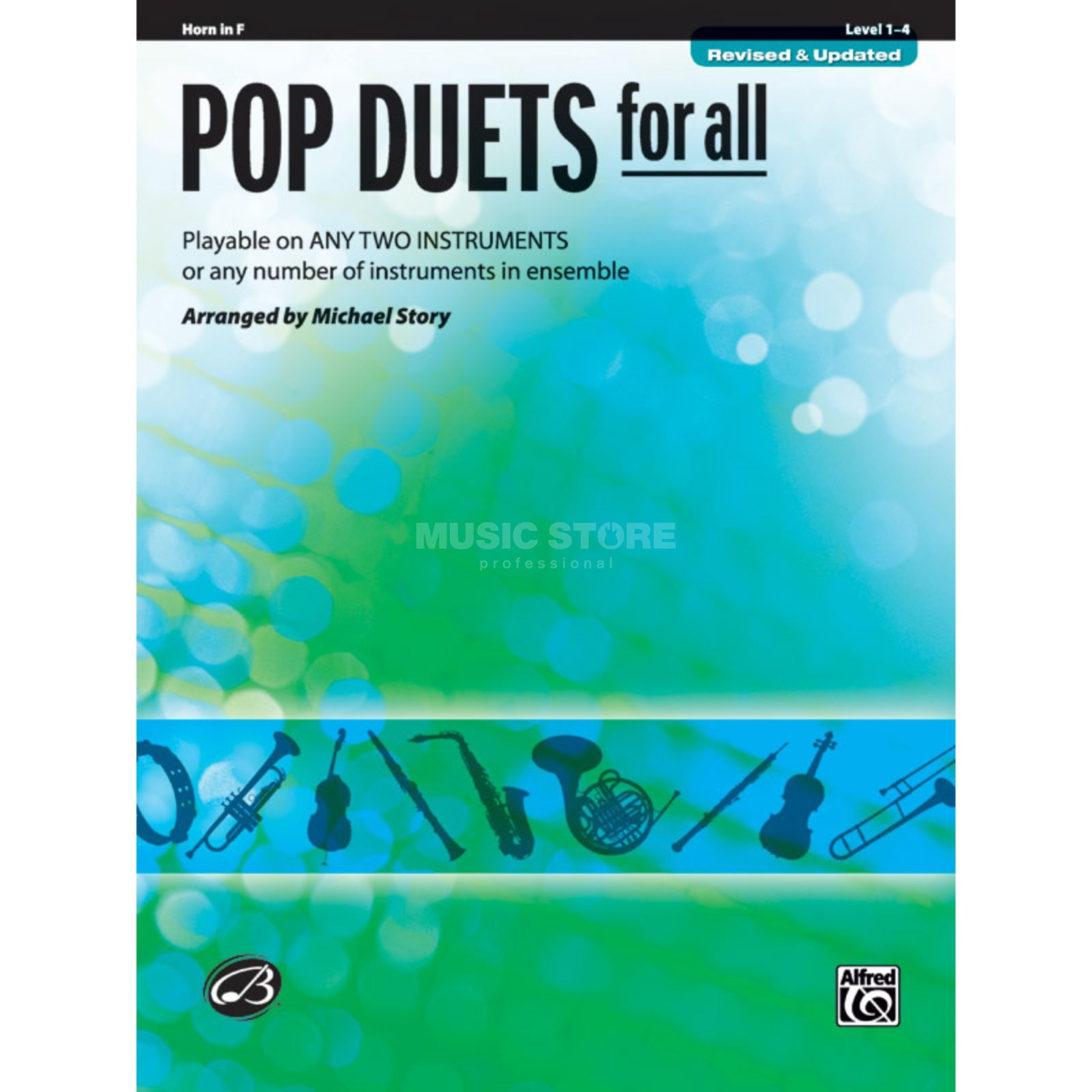 Alfred Music Pop Duets for All - Horn in F Mixed Ensemble Produktbillede
