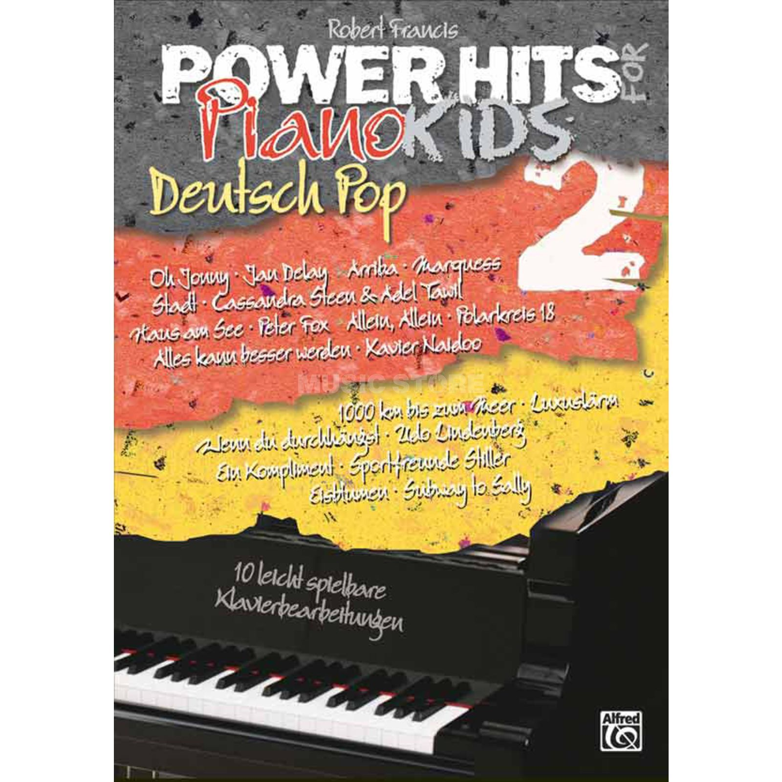 Alfred Music Power Hits Piano 2 Deustch Pop PVG Produktbild
