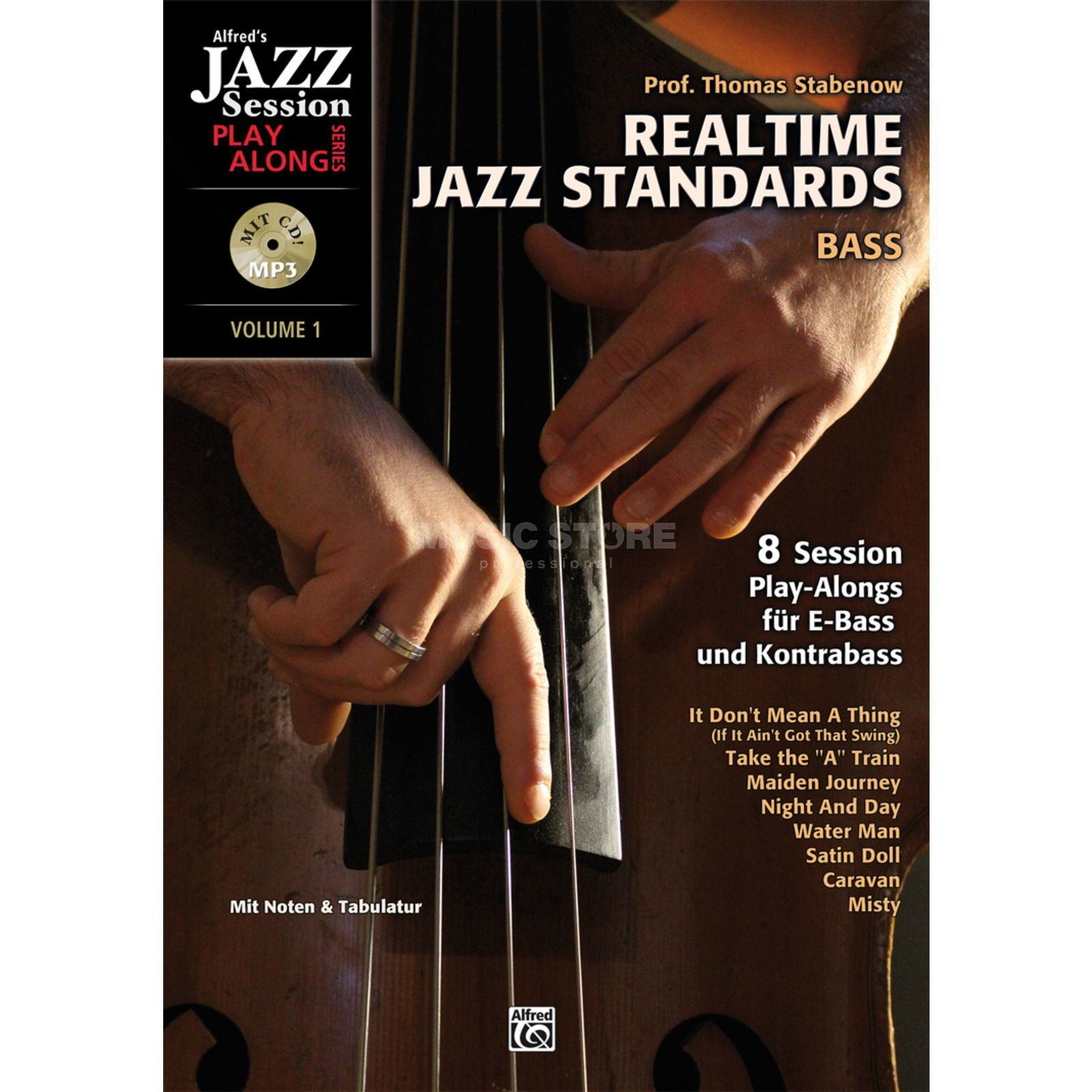 Alfred Music Realtime Jazz Standards Bass Produktbillede