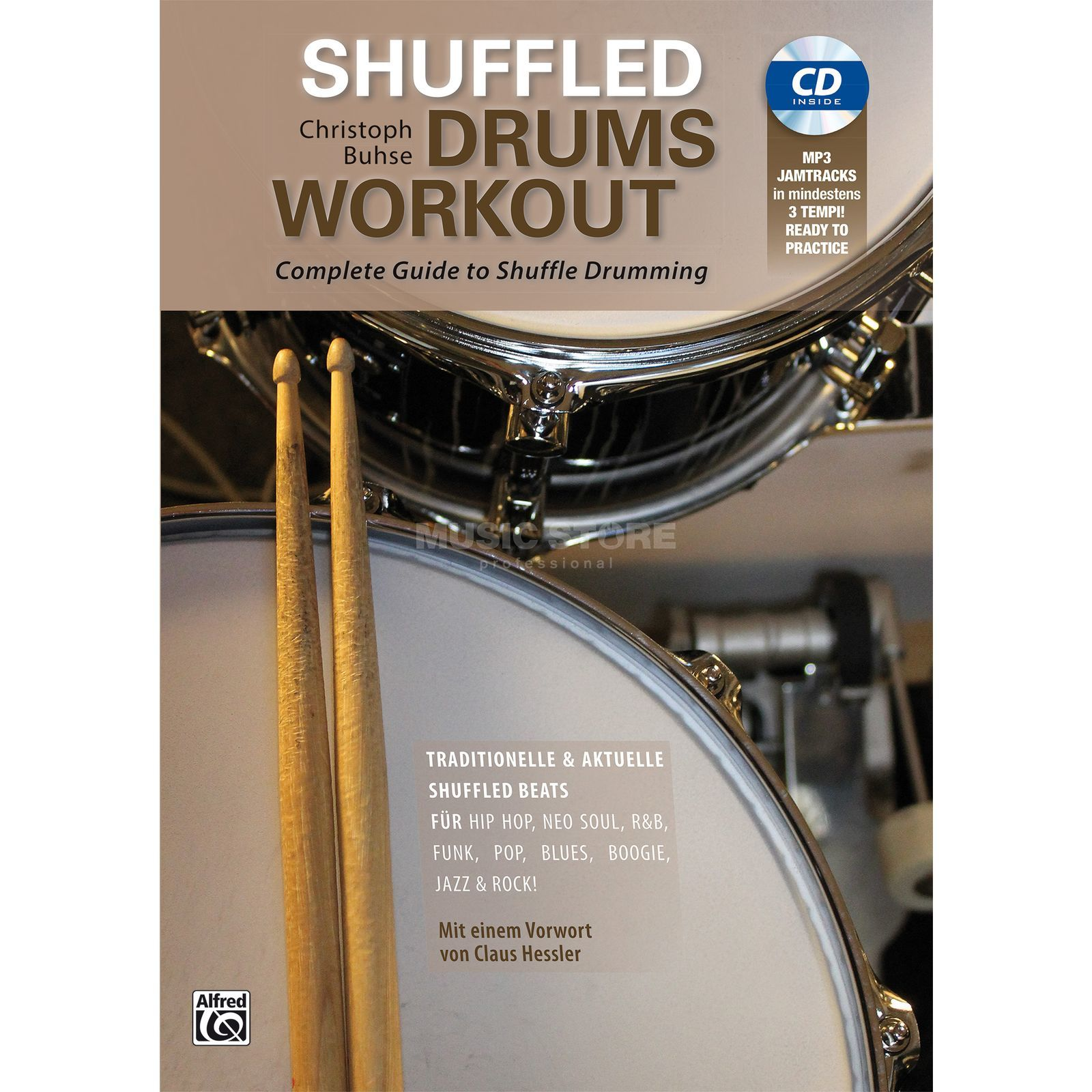 Alfred Music Shuffeld Drums Workout Christoph Buhse Produktbillede