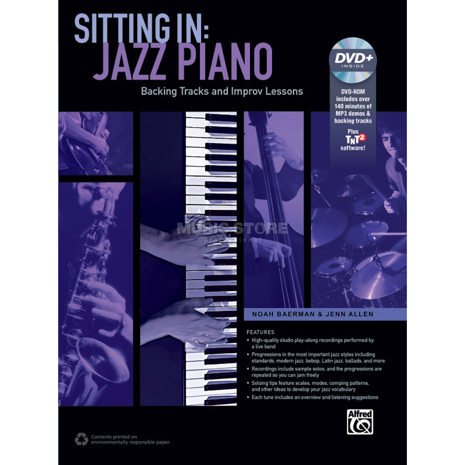Alfred Music Sitting In: Jazz Piano Produktbillede
