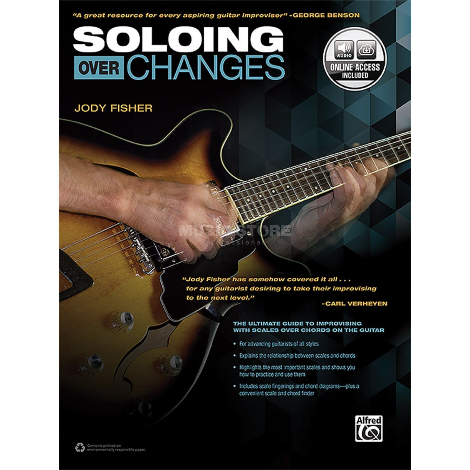 Alfred Music Soloing over Changes Image du produit