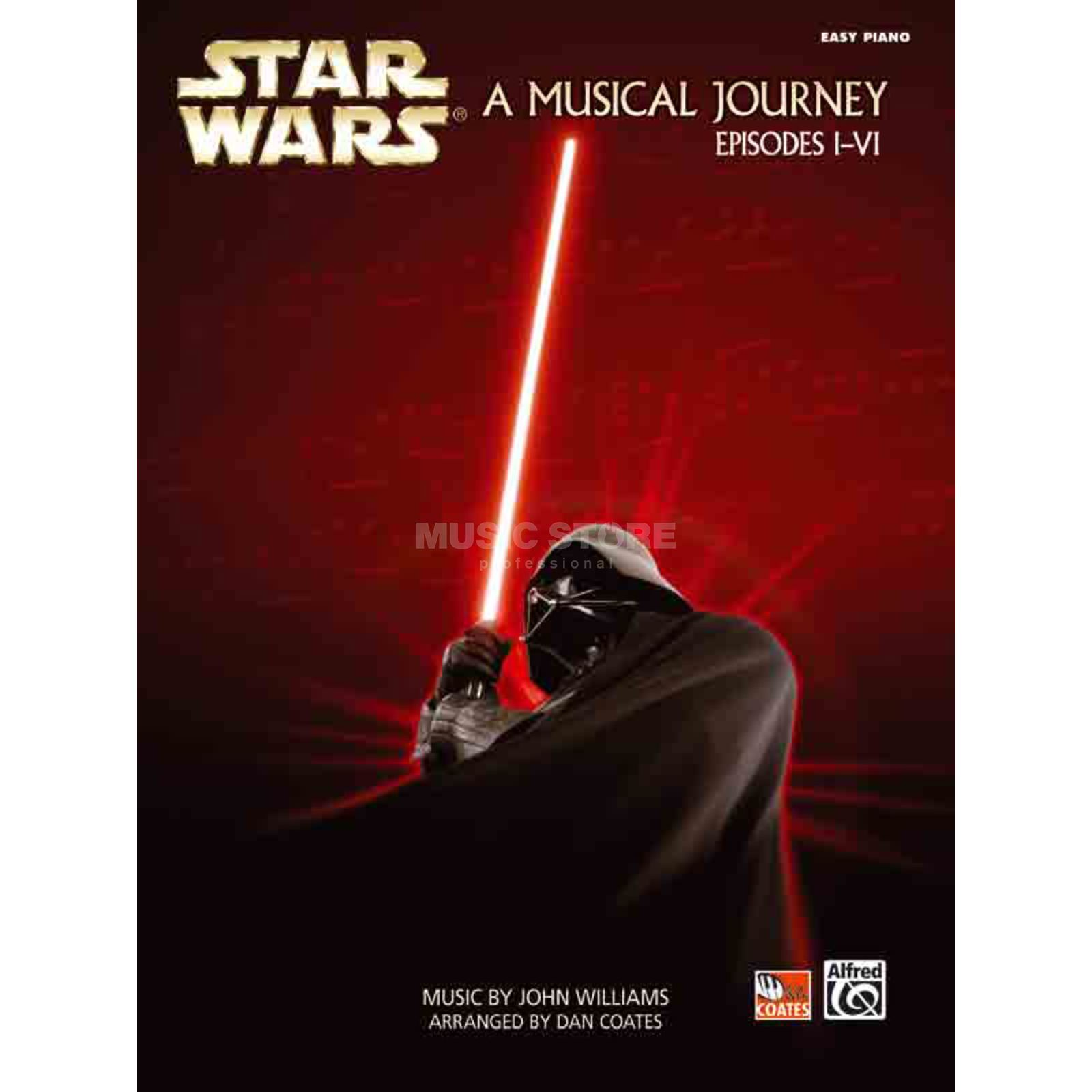 Alfred Music Star Wars A Musical Journey Episodes I-VI - Piano Solo (easy) Produktbillede