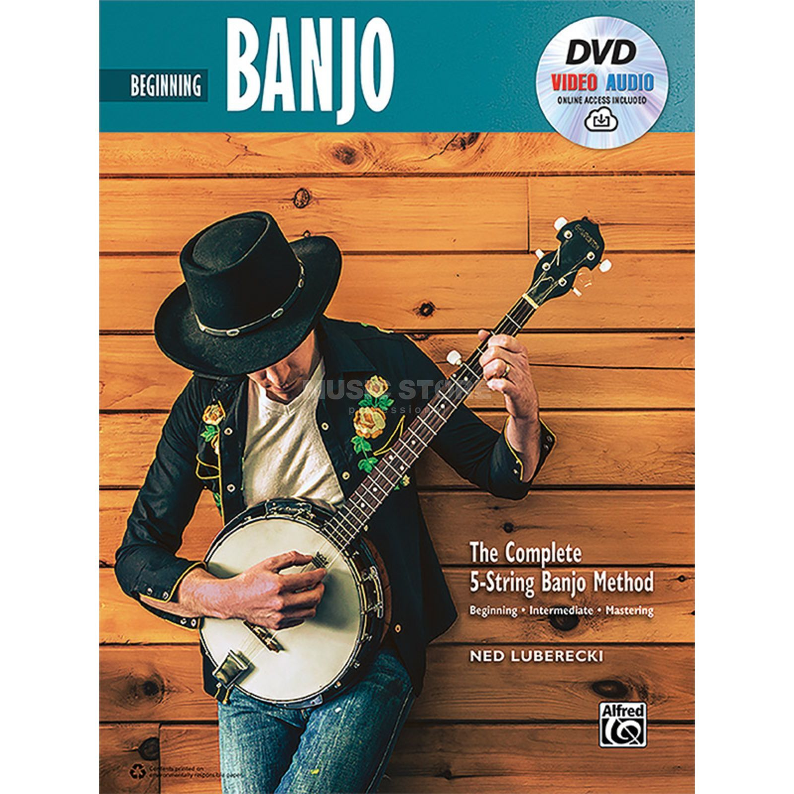Alfred Music The Complete 5-String Banjo Method: Beginning Banjo Imagem do produto
