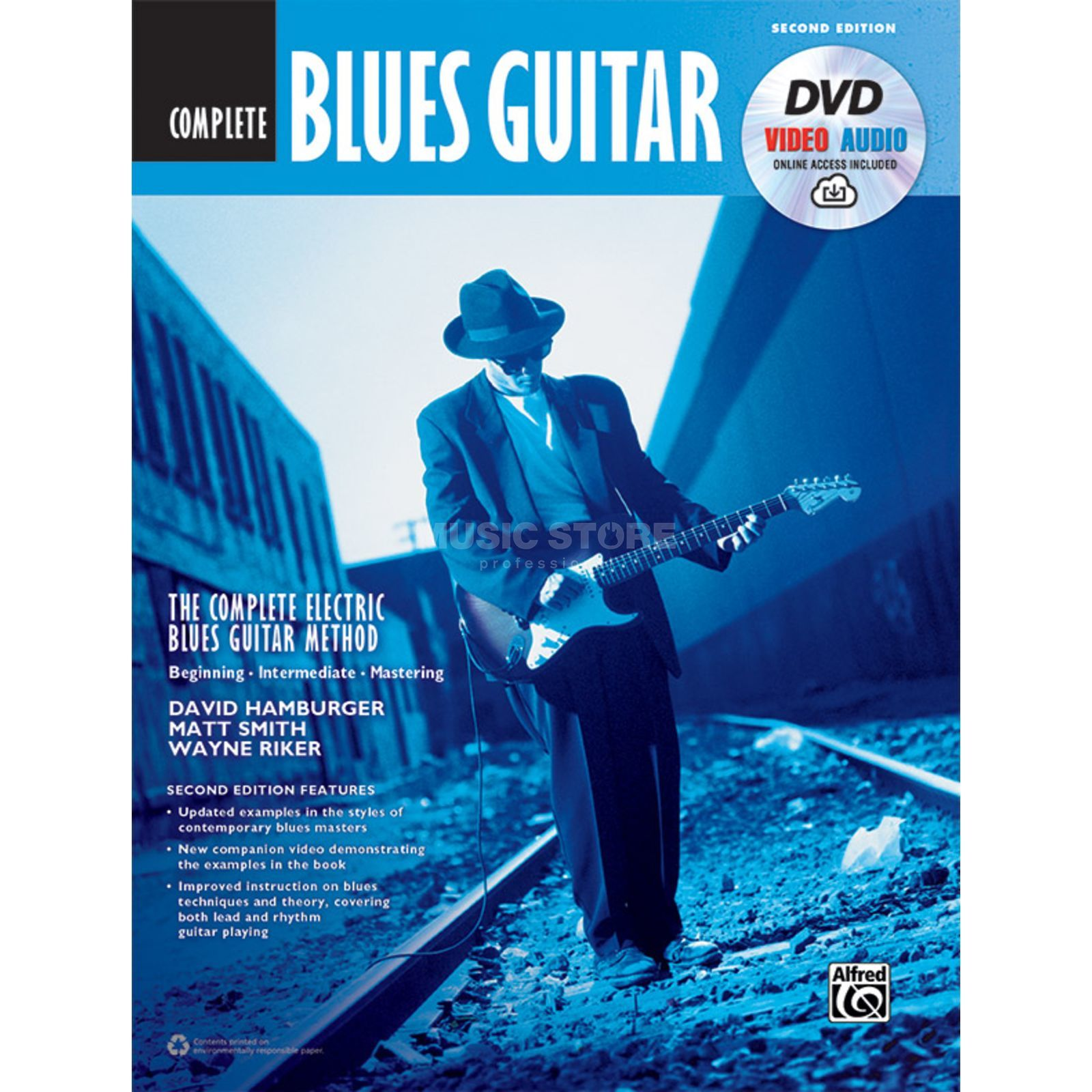 Alfred Music The Complete Blues Guitar Method: Complete Edition (Second Edition) Produktbild
