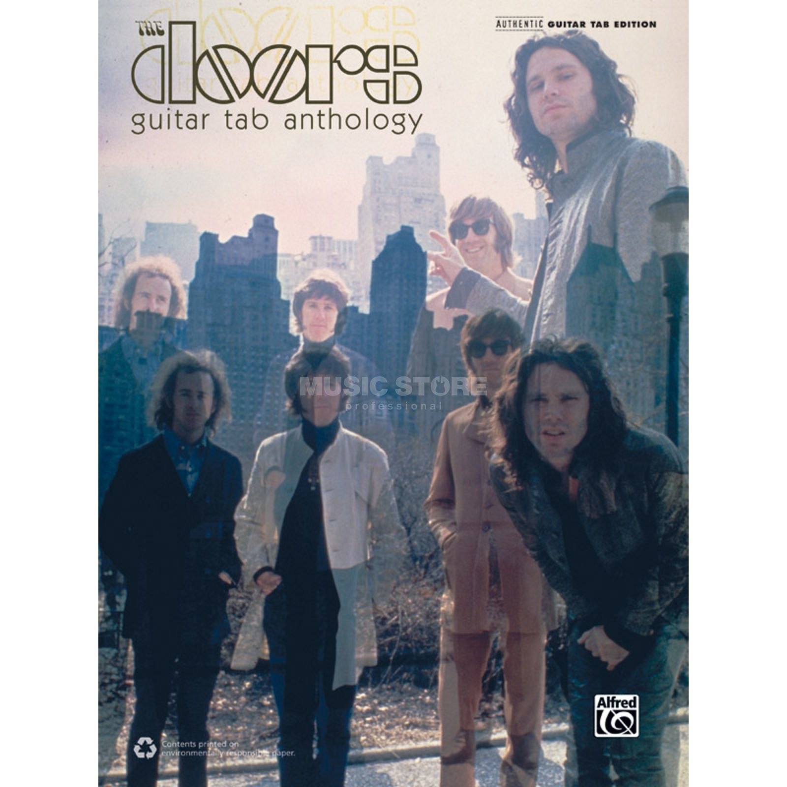 Alfred Music The Doors: Guitar Tab Anthology Produktbillede