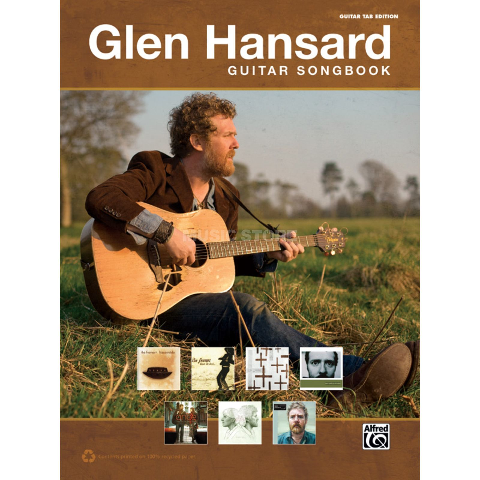 Alfred Music The Glen Hansard Guitar Songbook Produktbild