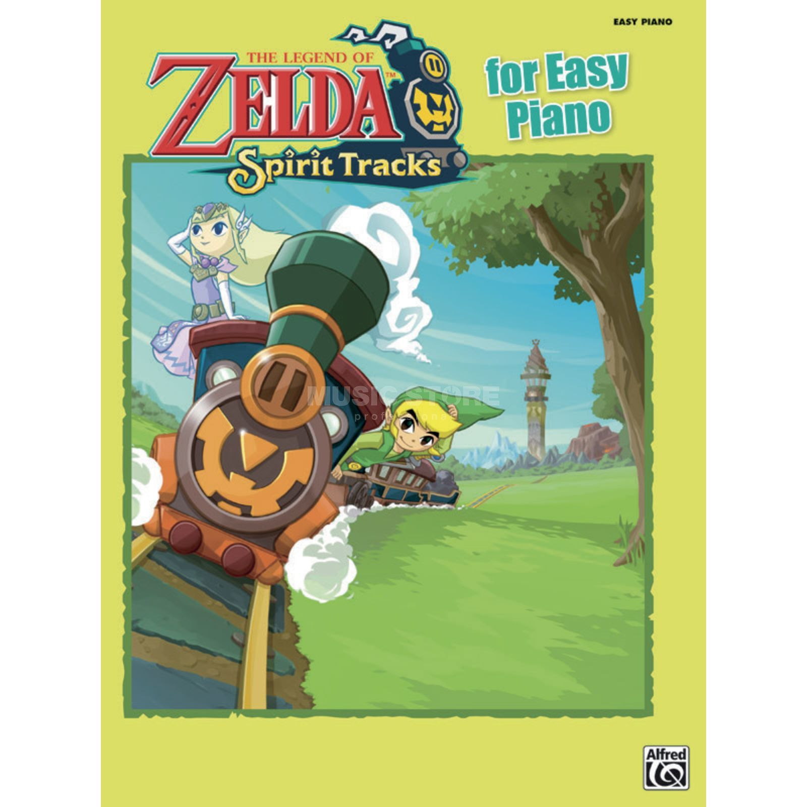Alfred Music The Legend of Zelda: Spirit Tracks for Easy Piano Produktbillede