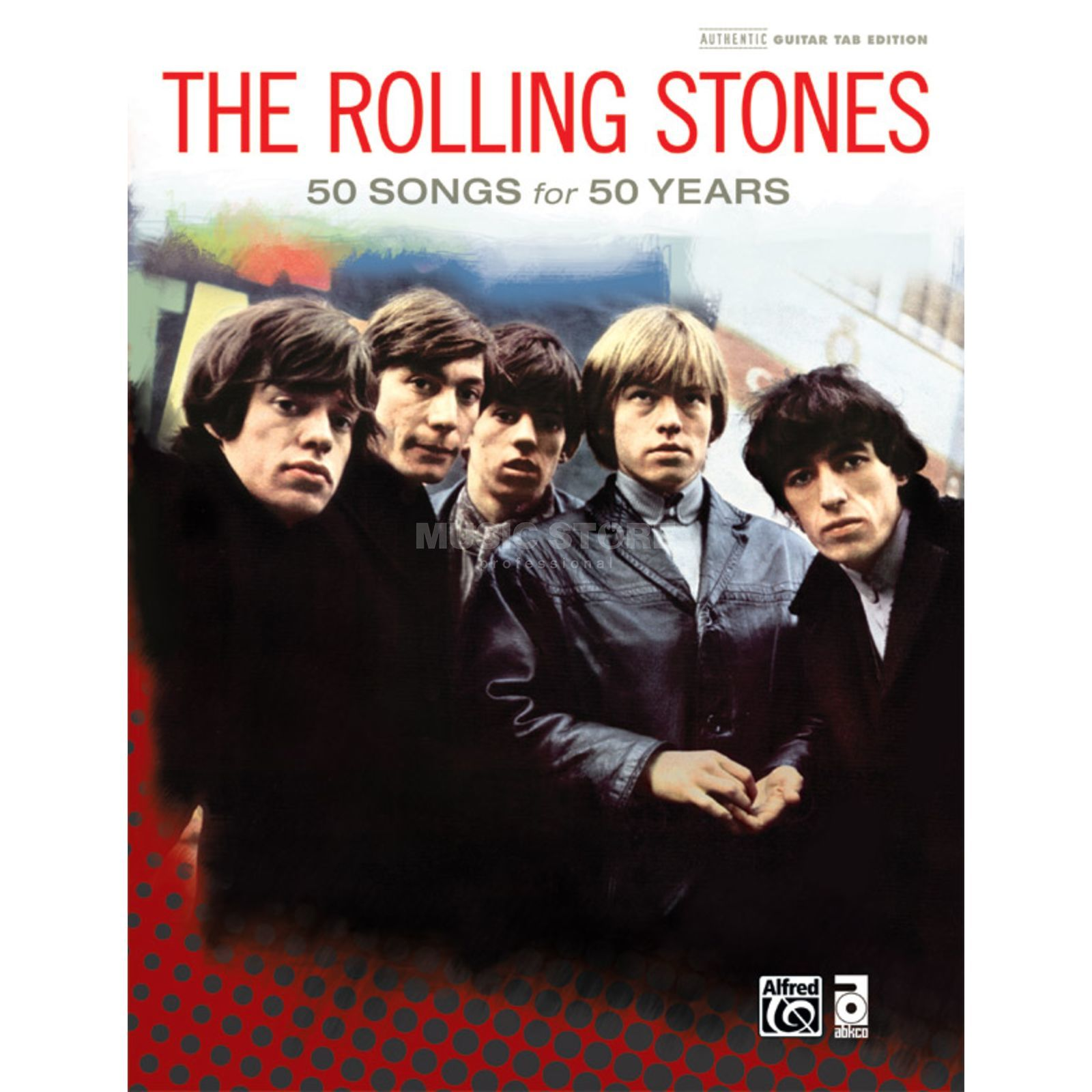 Alfred Music The Rolling Stones: 50 Songs for 50 Years TAB Produktbild