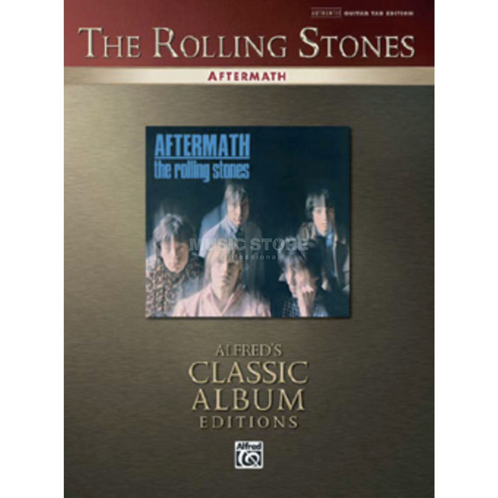 Alfred Music The Rolling Stones - Aftermath TAB Produktbild