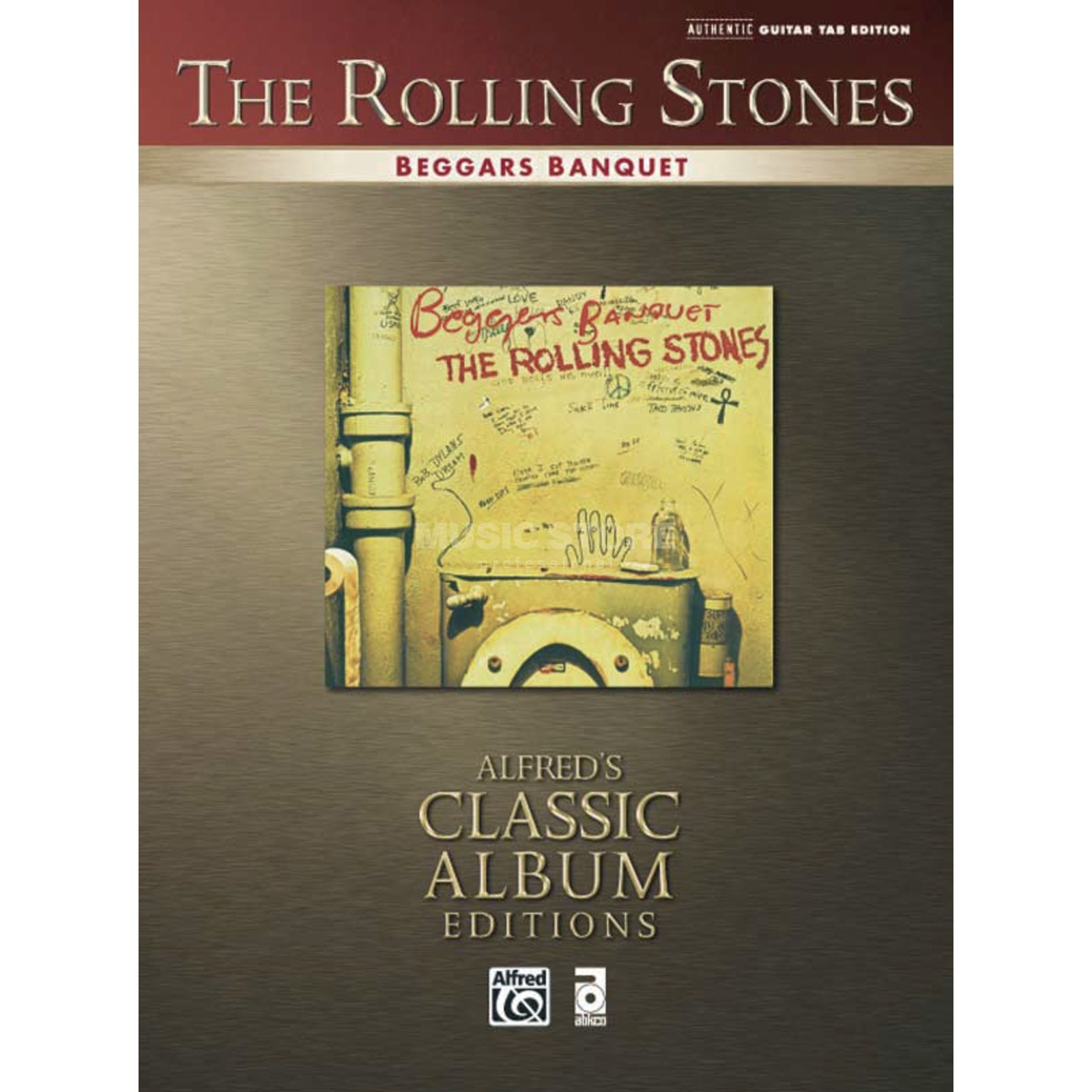 Alfred Music The Rolling Stones - Beggars Banquet TAB Produktbillede