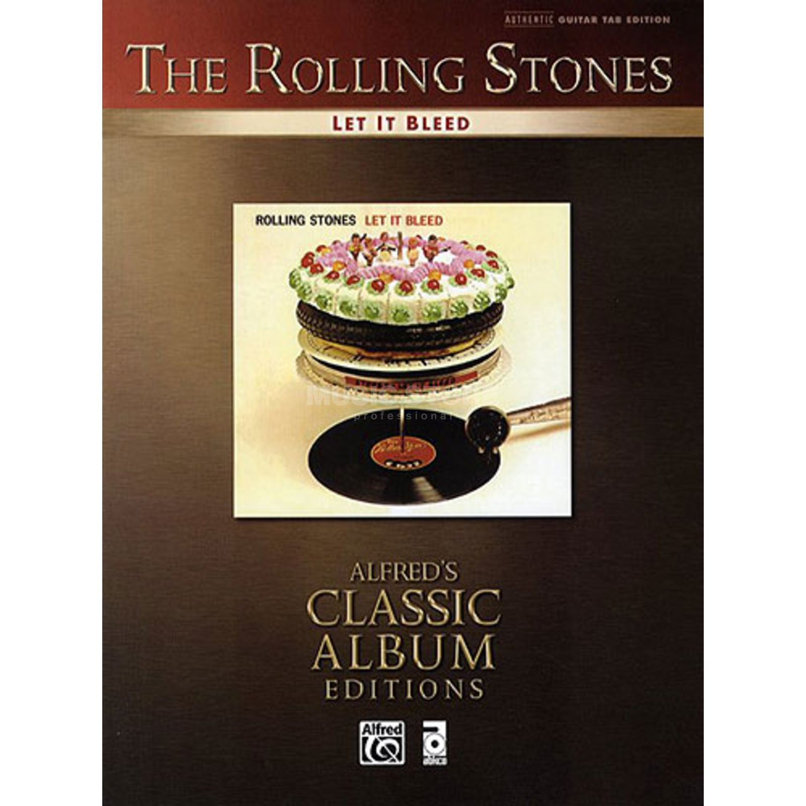 Alfred Music The Rolling Stones - Let it bleed TAB Produktbild