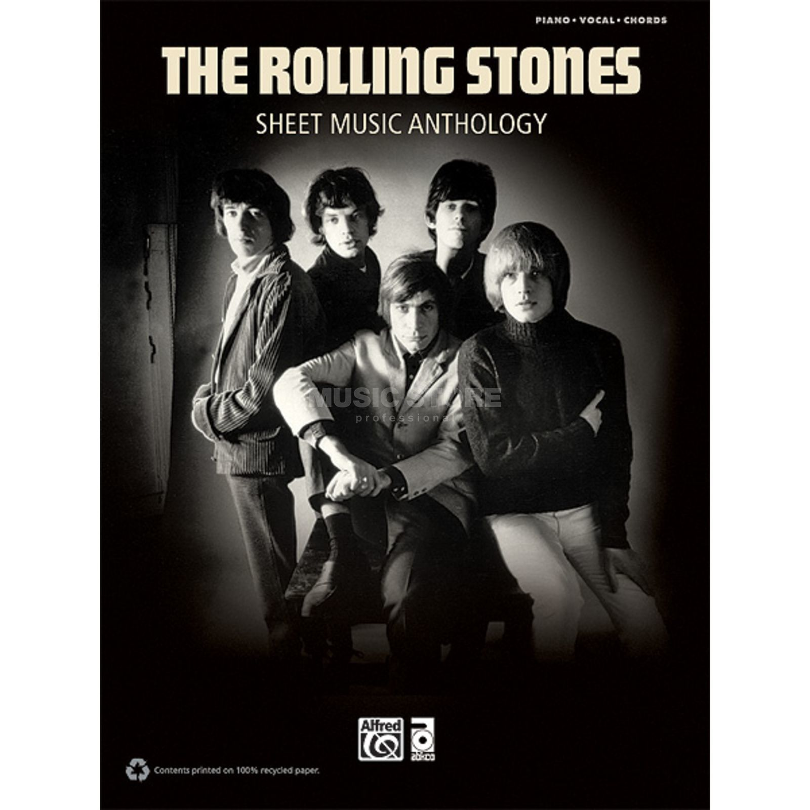 Alfred Music The Rolling Stones: Sheet Music Anthology Produktbillede