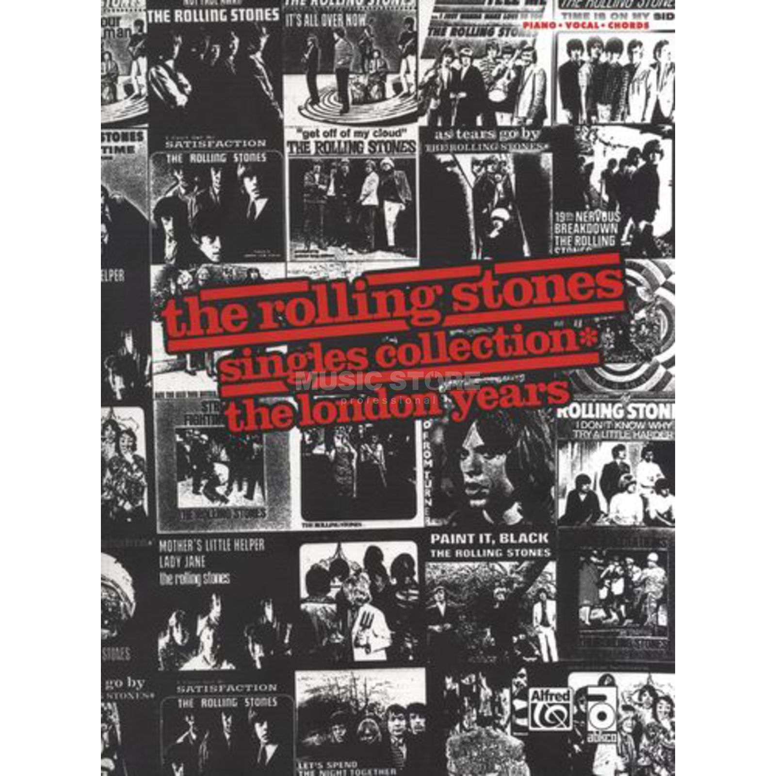 Alfred Music The Rolling Stones - Singles Collection - London Years PVG Produktbild