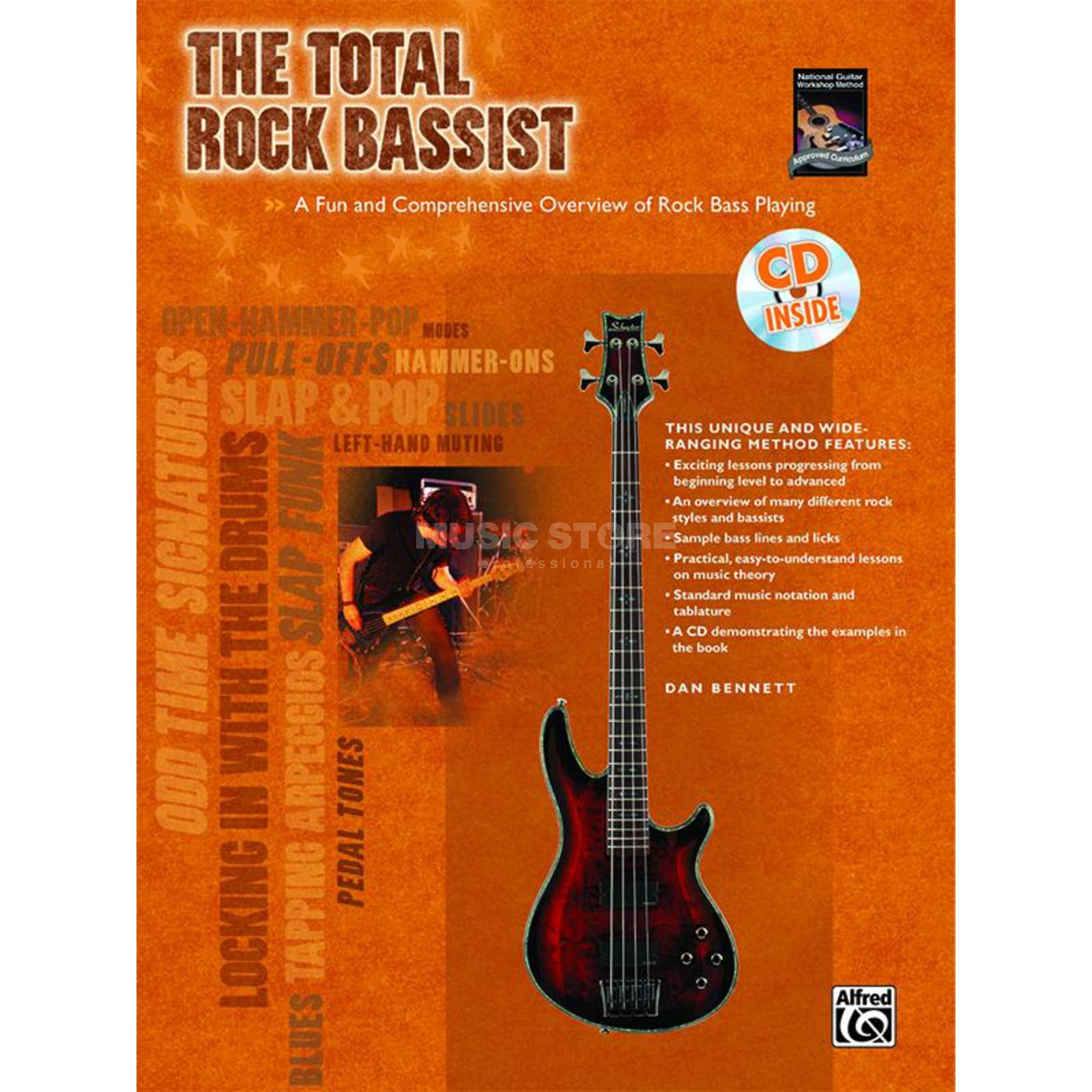 Alfred Music The Total Rock Bassist Lehrbuch und CD Produktbild