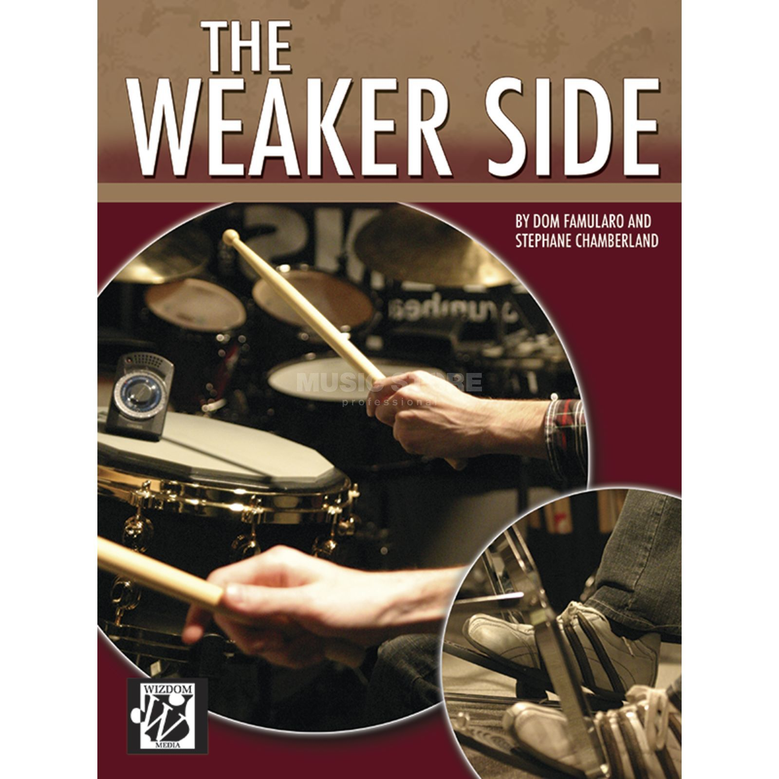 Alfred Music The Weaker Side Lehrbuch Drums Produktbild