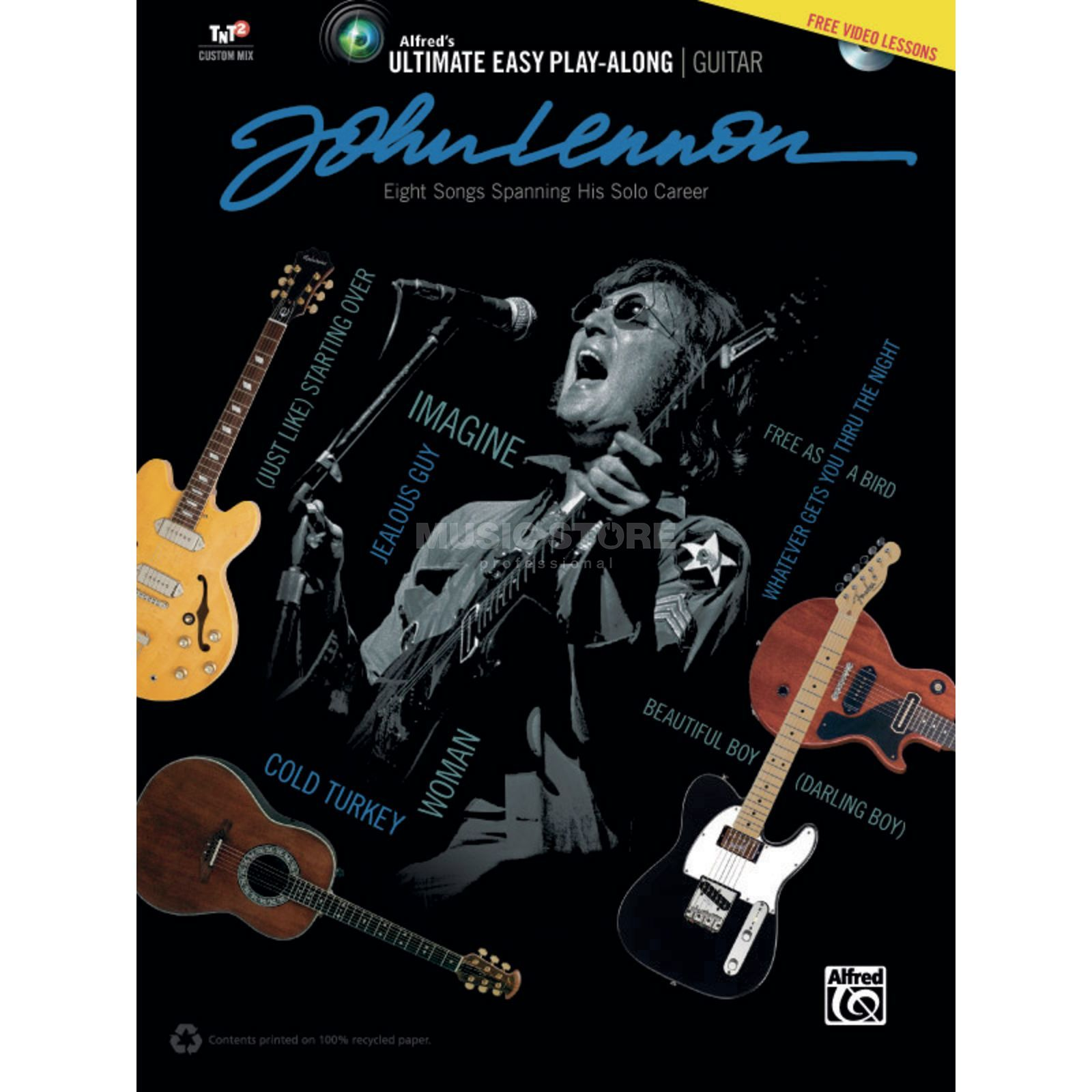 Alfred Music Ultimate Easy Guitar Play-Along: John Lennon Produktbillede