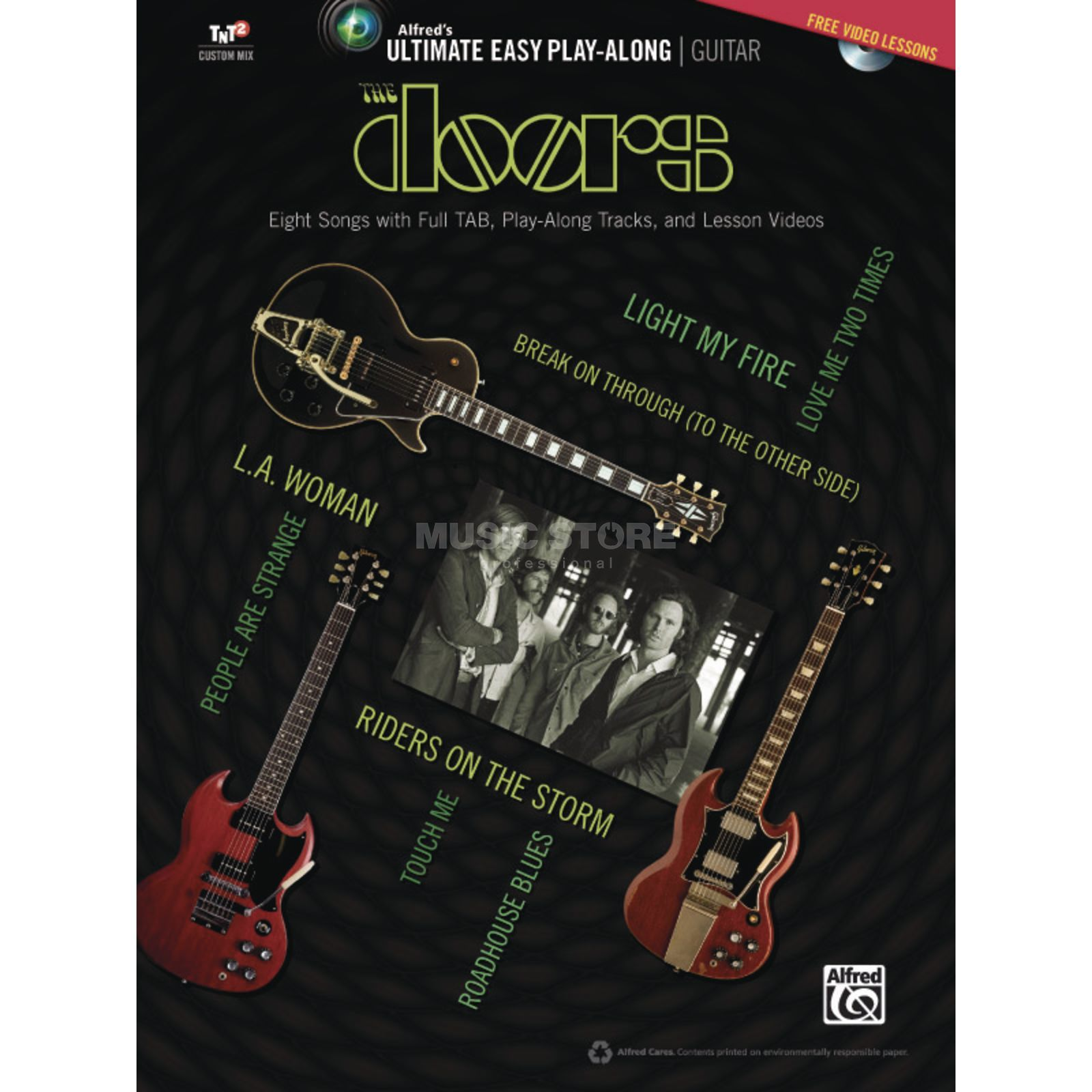 Alfred Music Ultimate Easy Guitar Play-Along: The Doors Produktbillede