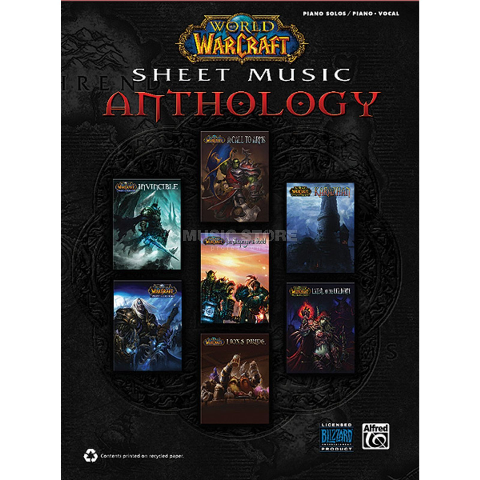 Alfred Music World of Warcraft Sheet Music Anthology Produktbild