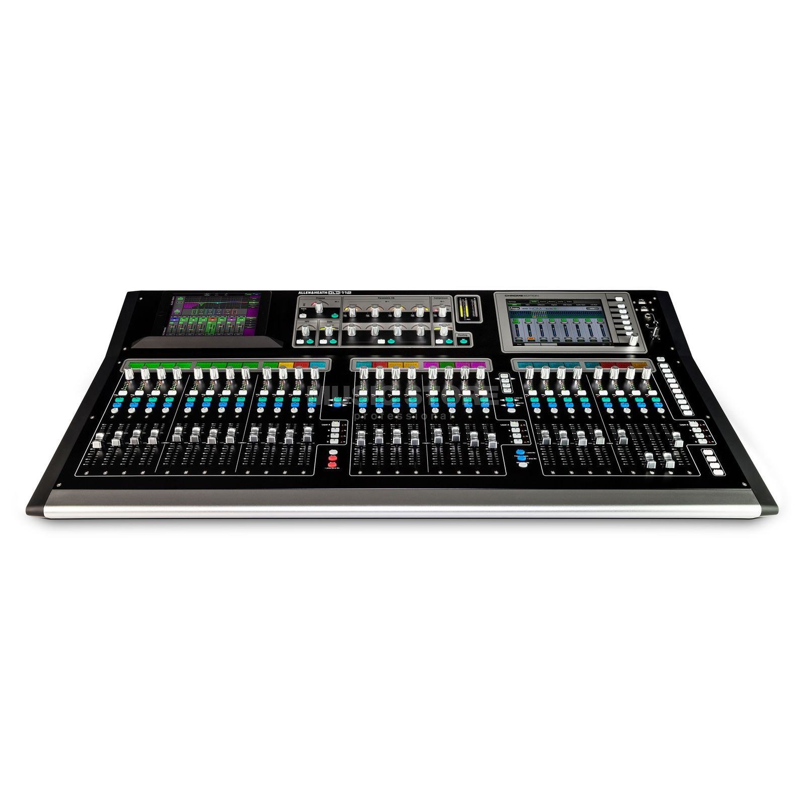 Allen & Heath GLD-112 Chrome 30 Busse, 8 Stereo FX Returns Produktbillede