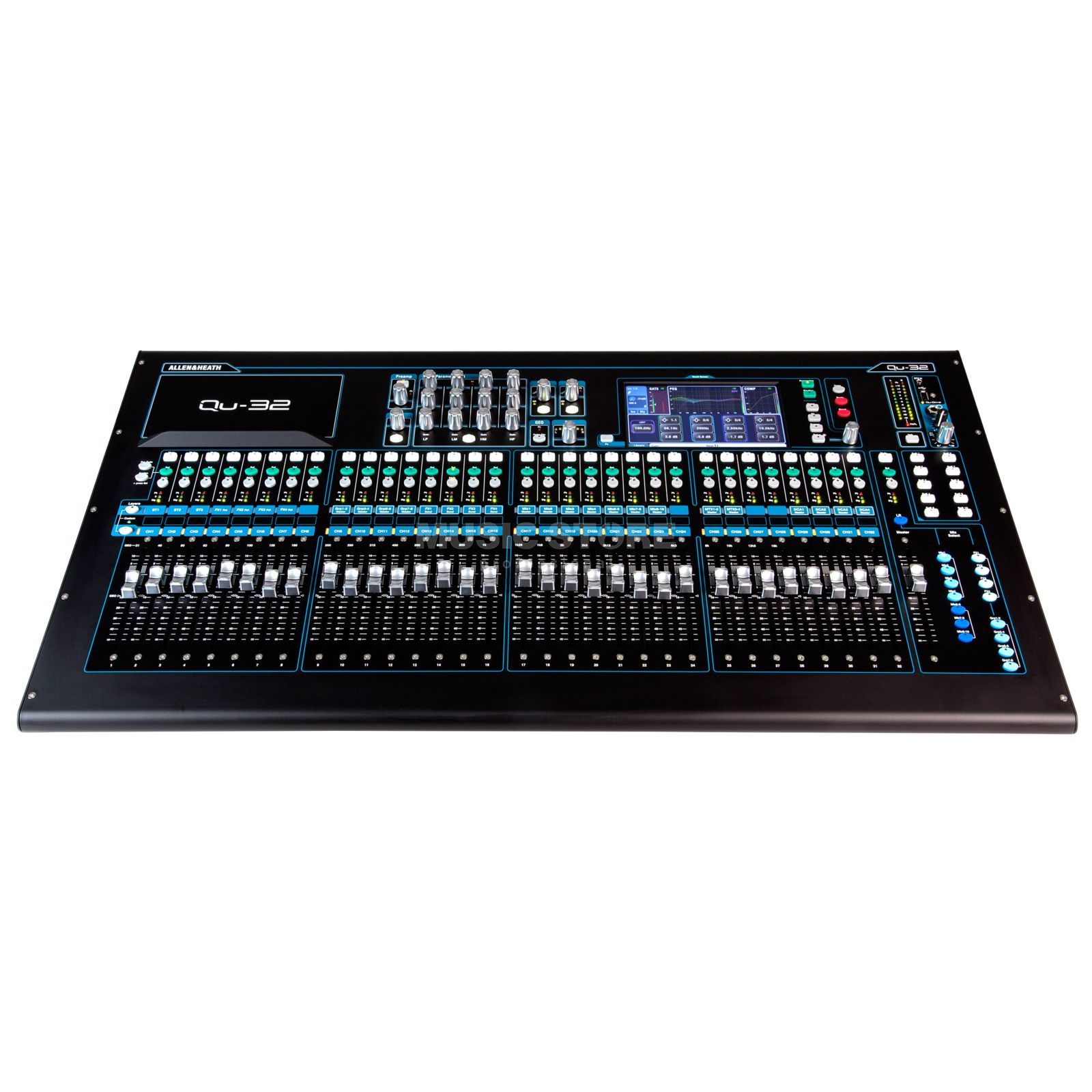 Allen & Heath QU 32 Chrome Edition 38 In, 28 Out Produktbild