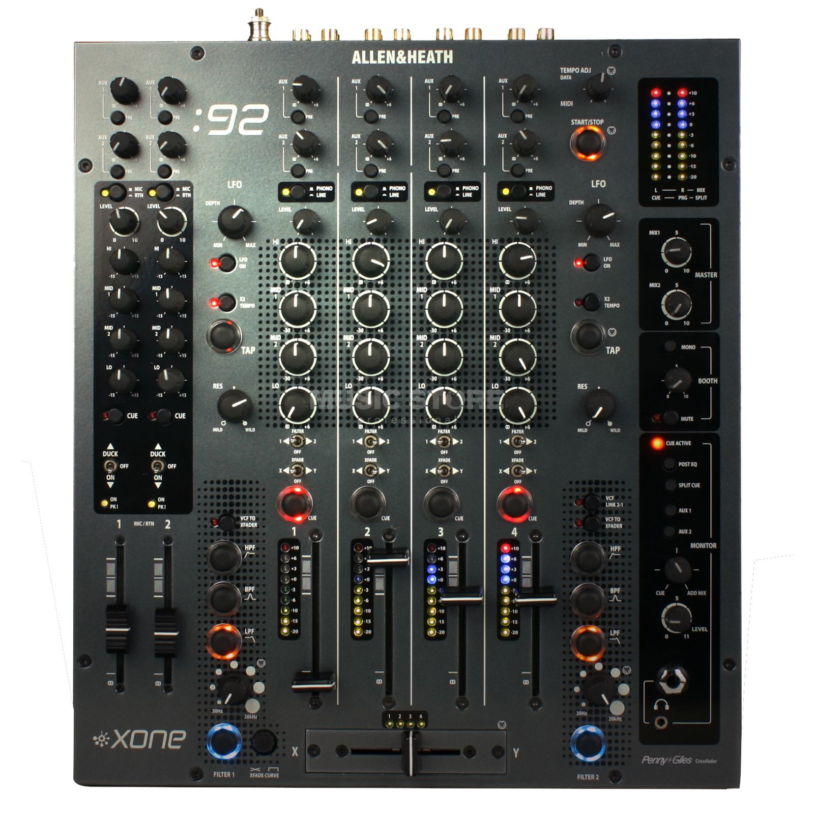 Allen & Heath XONE:92 Professional Club / DJ Mixer Produktbillede