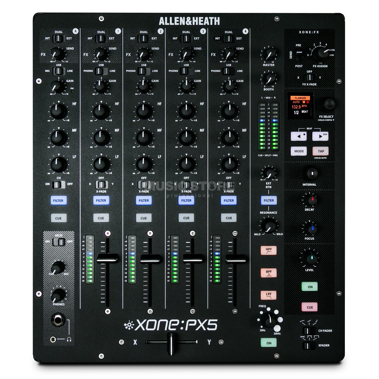 Allen & Heath Xone:PX5 DJ Performance Mixer Produktbild