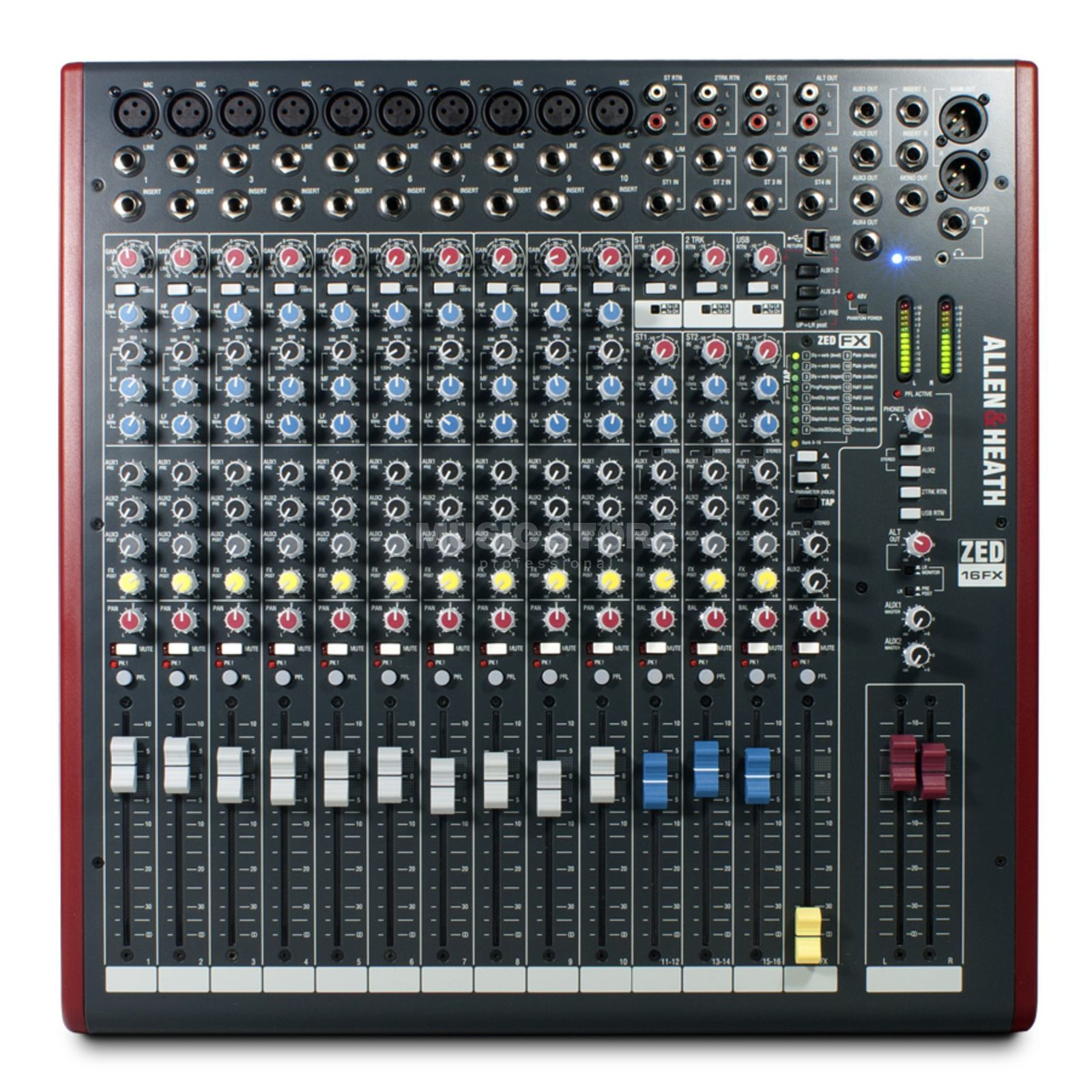 Allen & Heath ZED-16FX USB Mixer with Effects Produktbillede