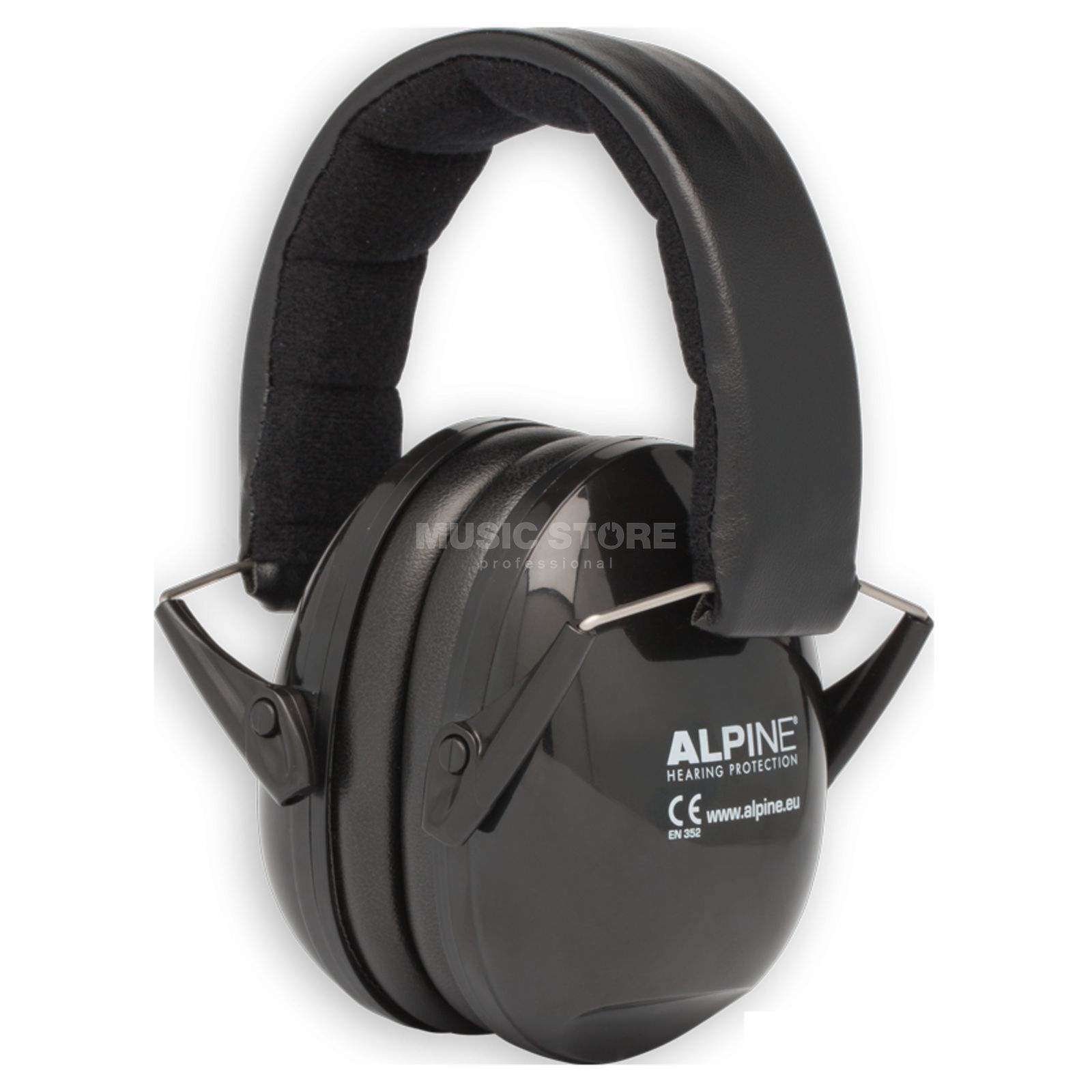 Alpine Muffy Music Hearing Protection Black Product Image
