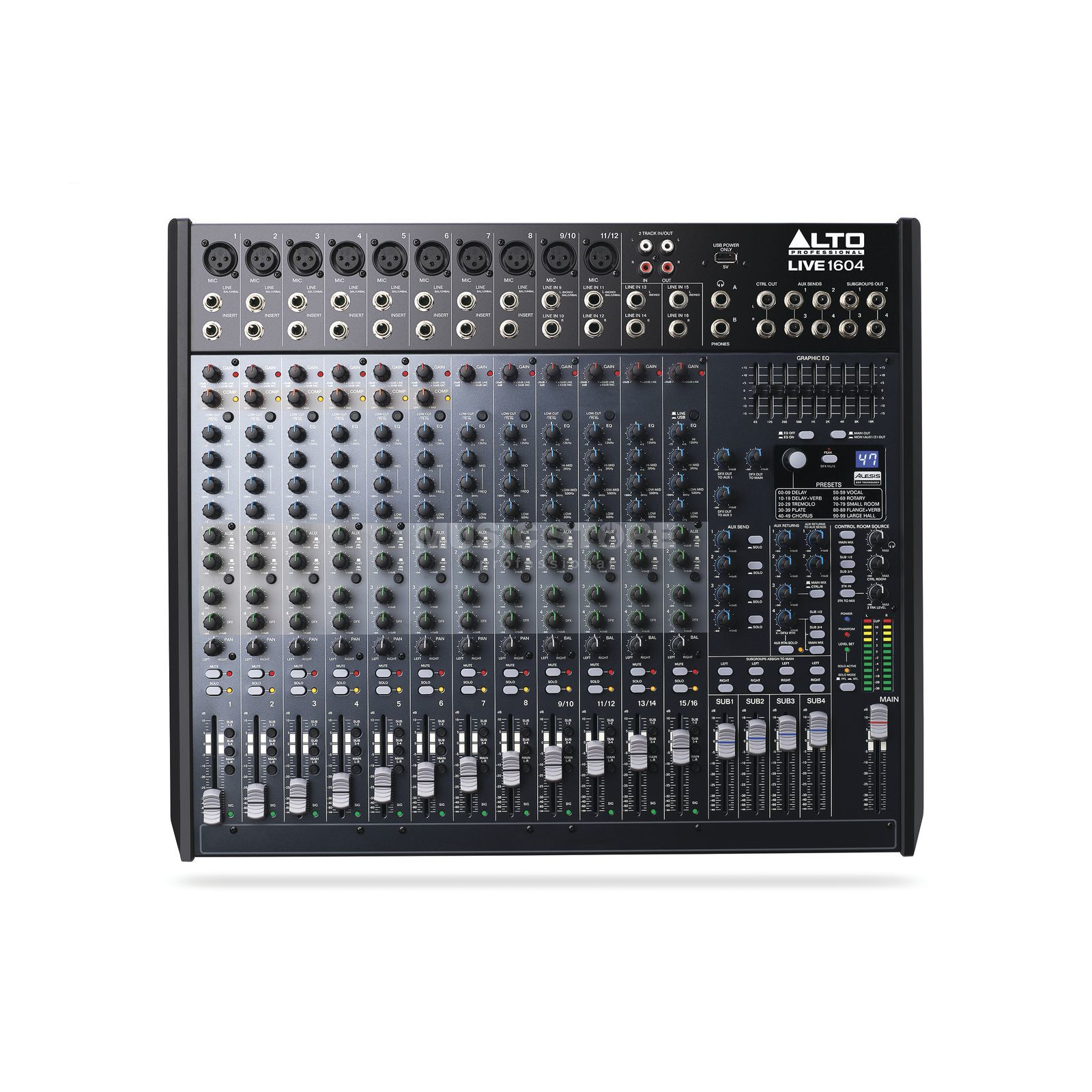 ALTO LIVE 1604 16-Channel/4-Bus Mixer Produktbillede