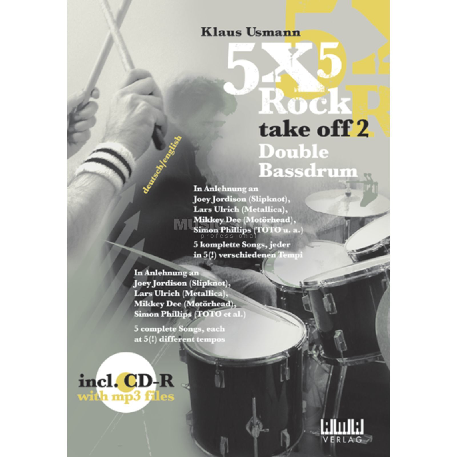 AMA Verlag 5 x 5 Rock Take Off 2 - D.Bass Klaus Usmann,inkl. CD Produktbillede