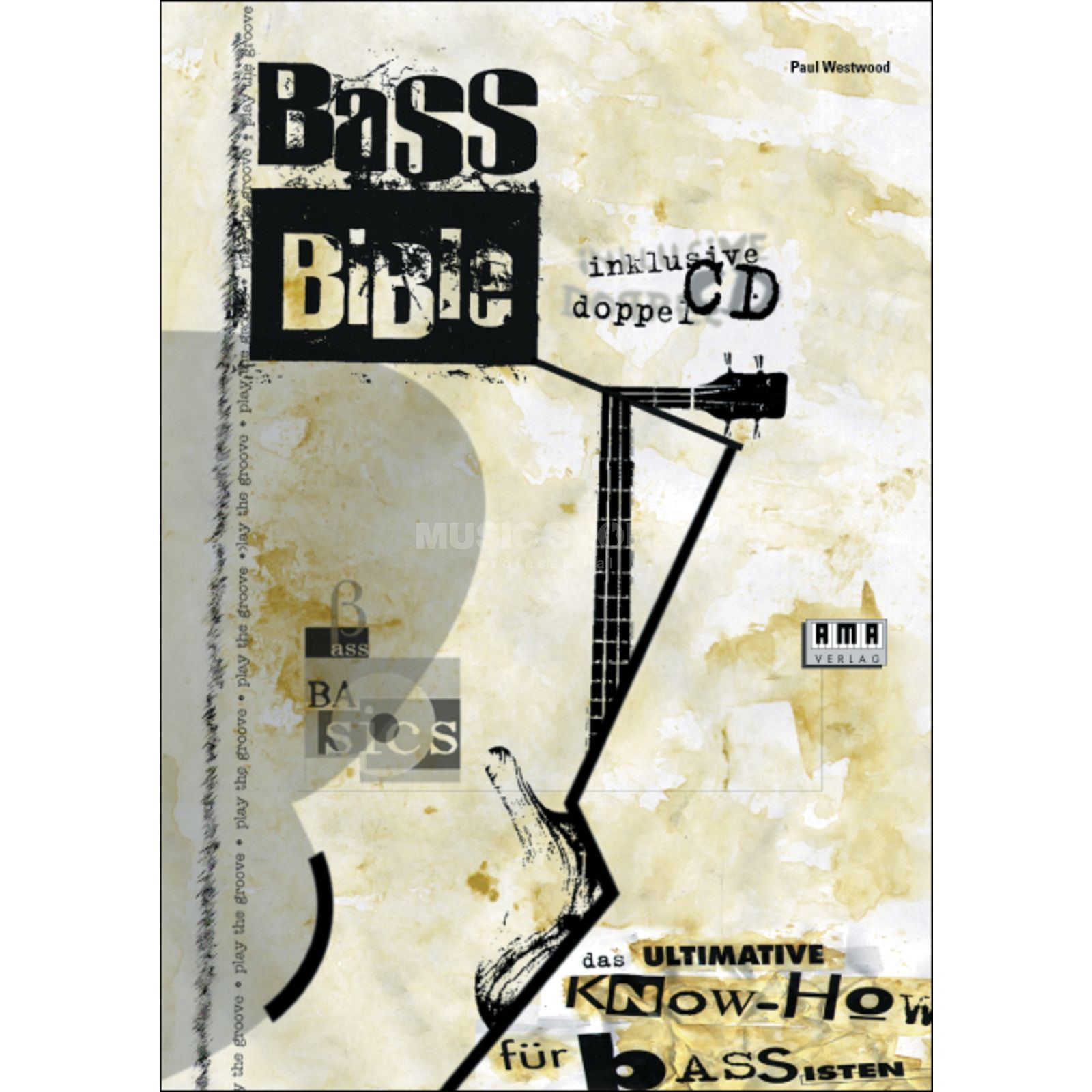 AMA Verlag Bass Bible Paul Westwood,inkl. 2 CD Product Image