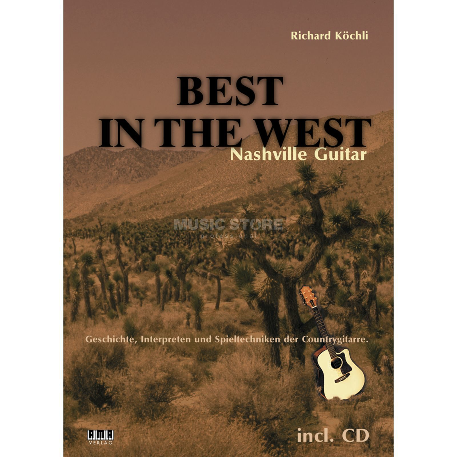 AMA Verlag Best in the West Richard Köchli,inkl. CD Produktbild
