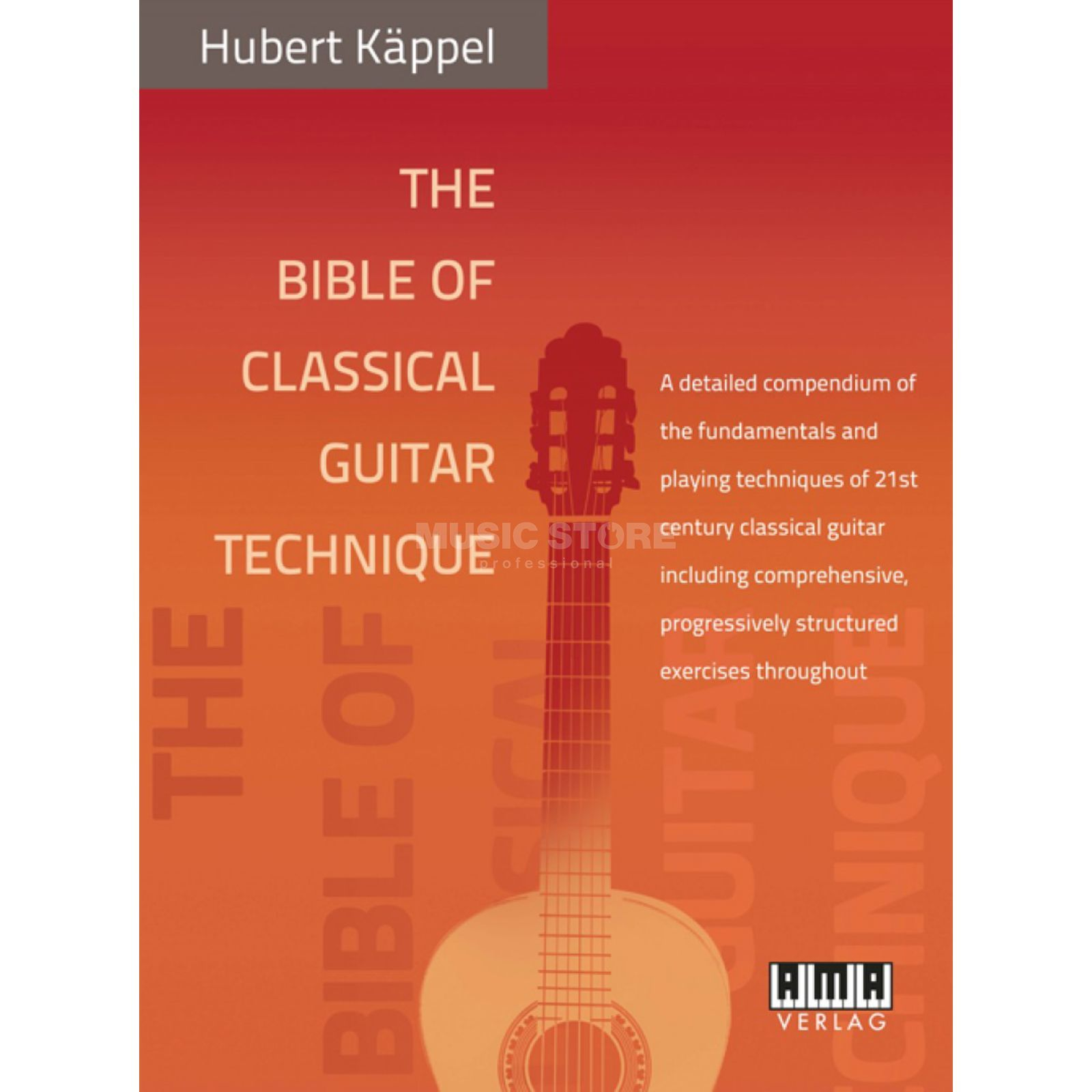 AMA Verlag Bible of Classical Guitar Technique ENGLISH Product Image