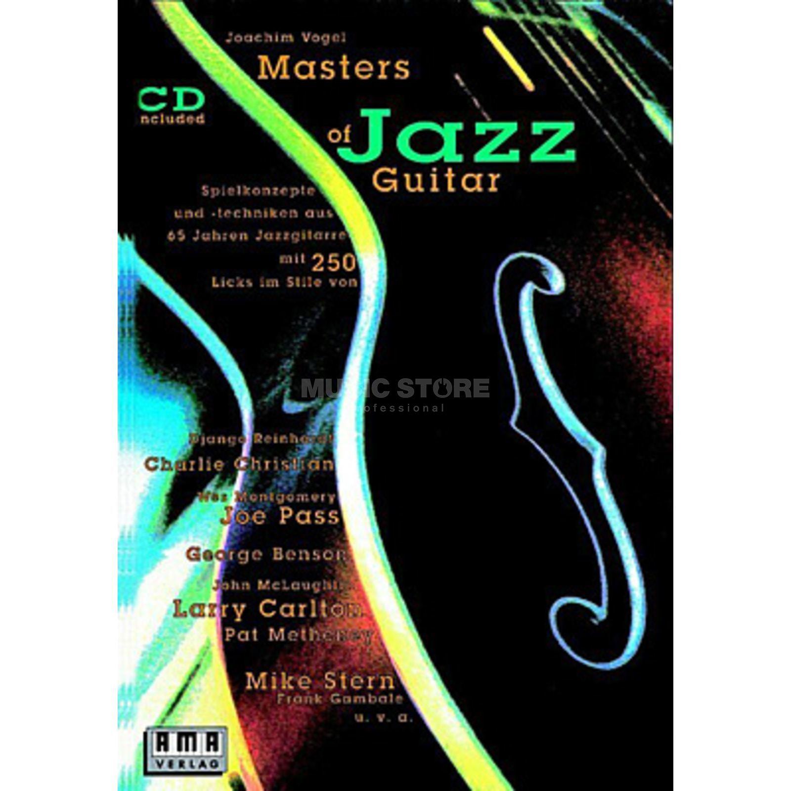 Joachim Vogel ama verlag masters of jazz guitar joachim vogel inkl cd
