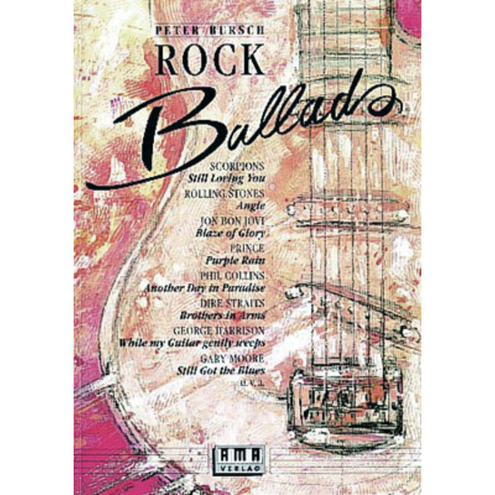 AMA Verlag Rock Ballads Band 1 Song Book-Series Produktbillede