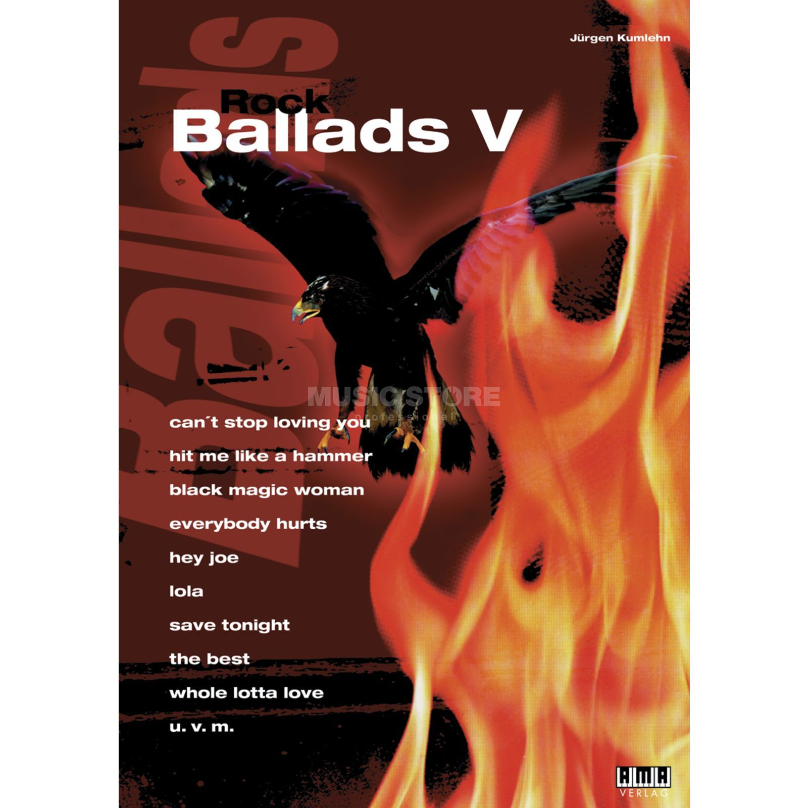 AMA Verlag Rock Ballads Band 5 Song Book-Series Produktbillede