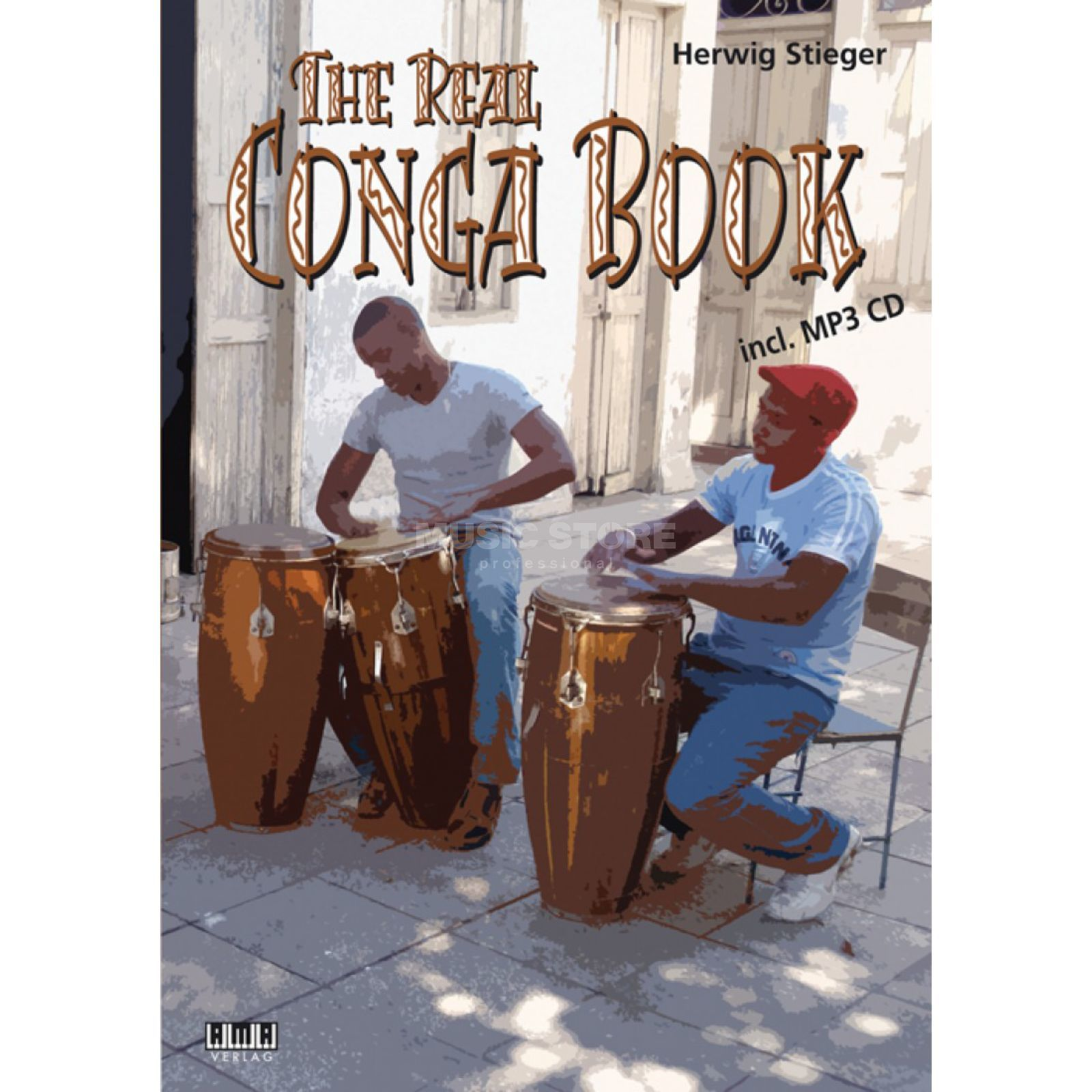 AMA Verlag The Real Conga Book Herwig Stieger, mit CD Produktbillede