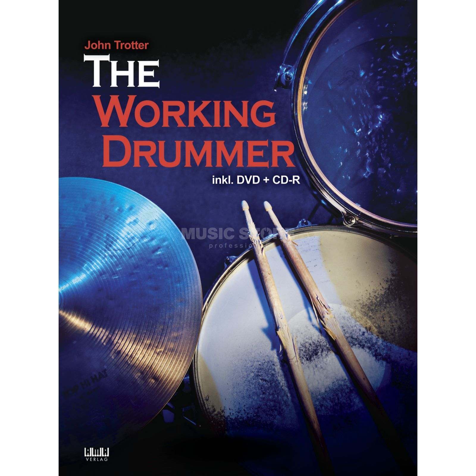 AMA Verlag The Working Drummer John Trotter, inkl. DVD+CD-R Produktbillede