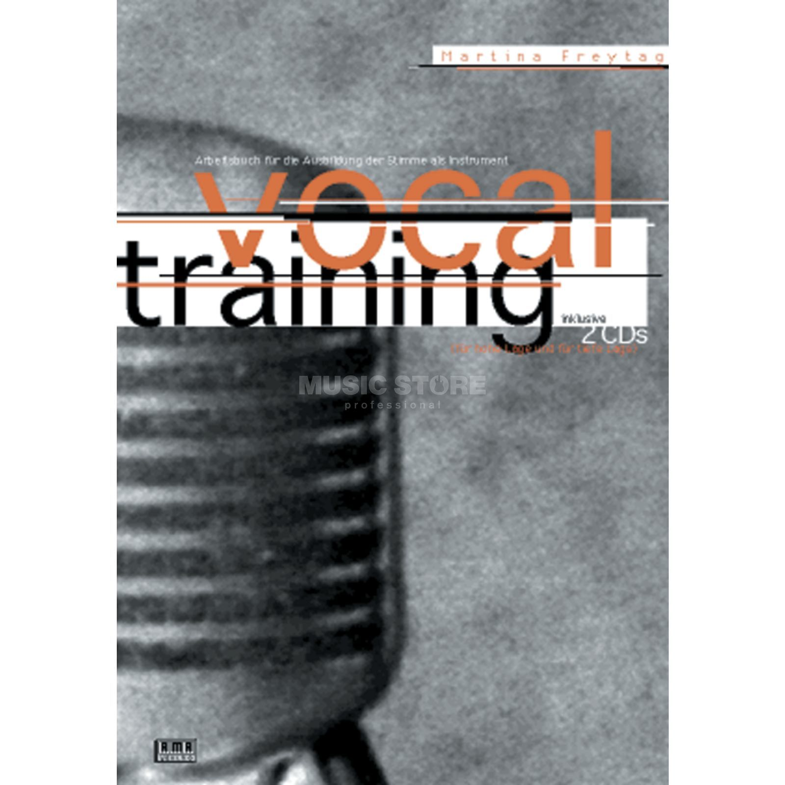AMA Verlag Vocal Training Martina Freytag,inkl. 2 CDs Produktbild