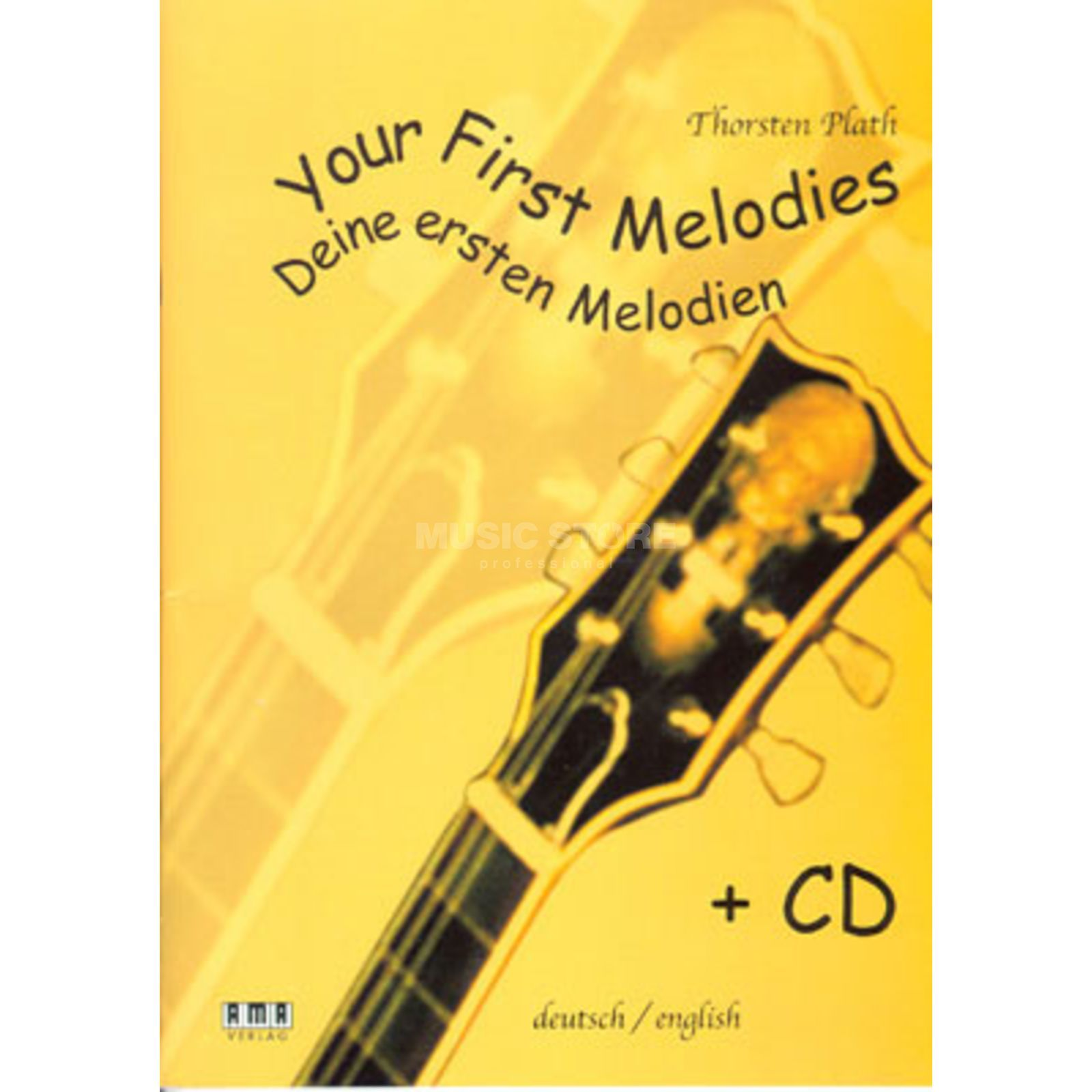 AMA Verlag Your First Melodies Thorsten Plath,inkl. CD Produktbillede