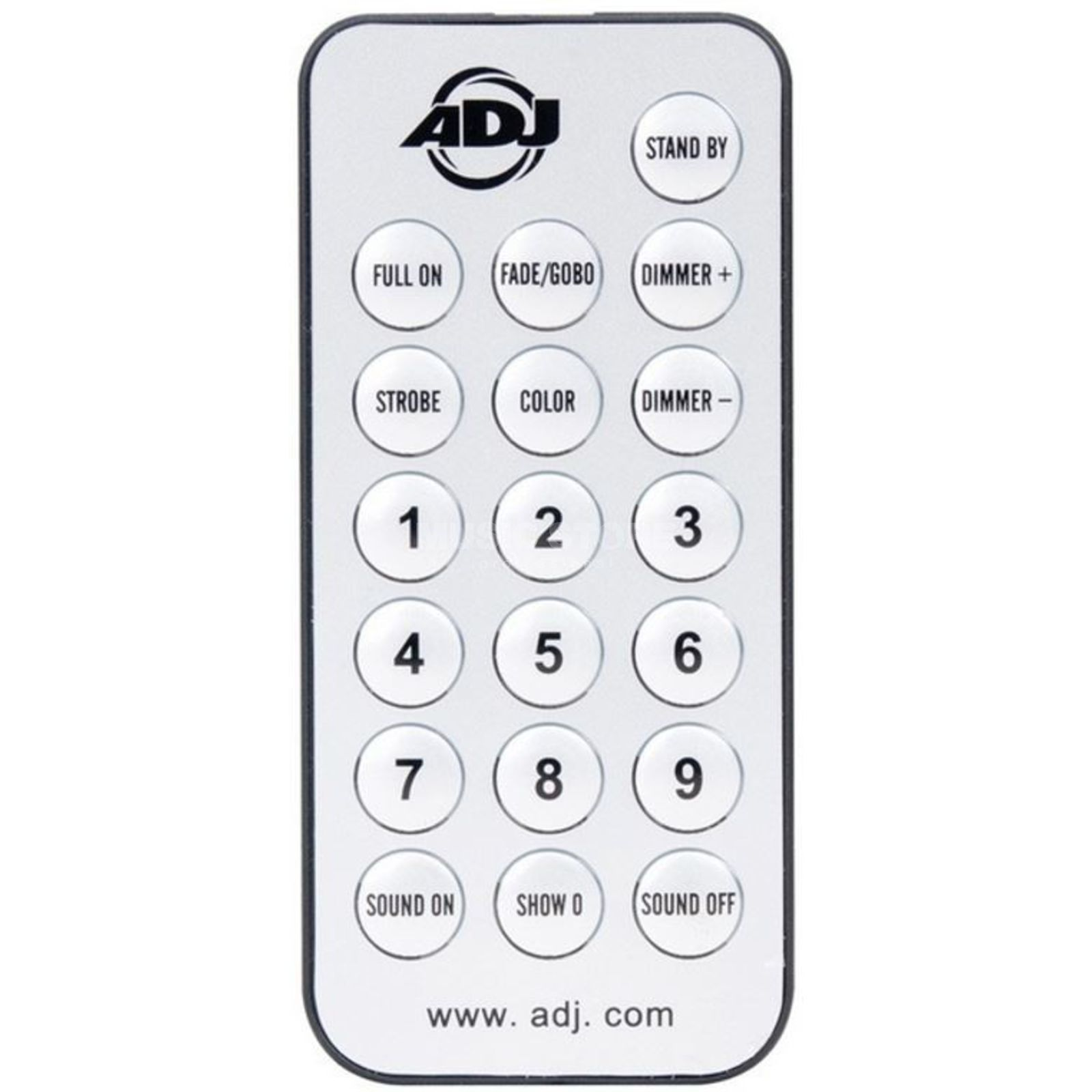 American DJ UC-IR Remote for Inno Pocket, Monster, etc. Produktbillede