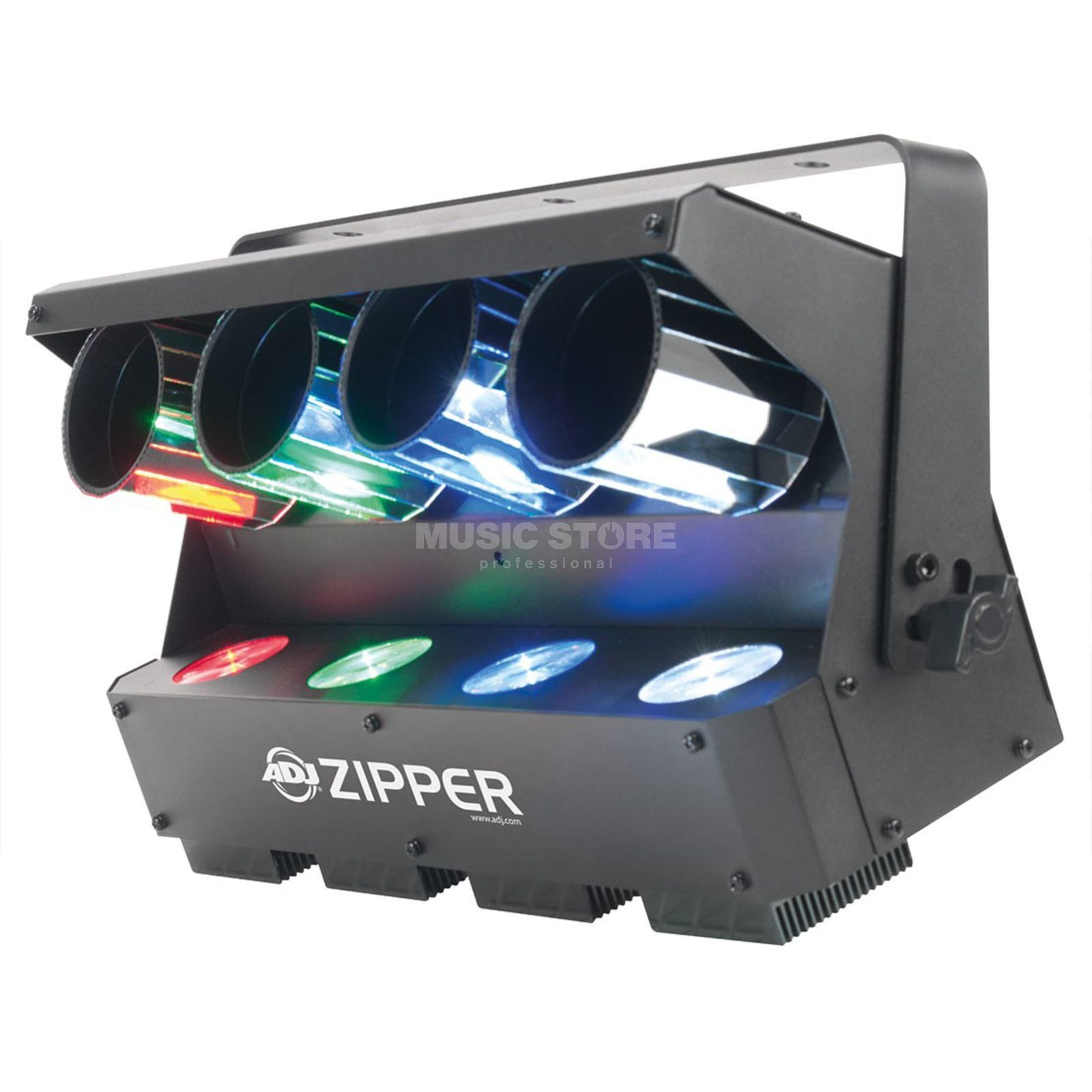 American DJ Zipper with 4 x 8-Watt-LED Scanner Produktbillede