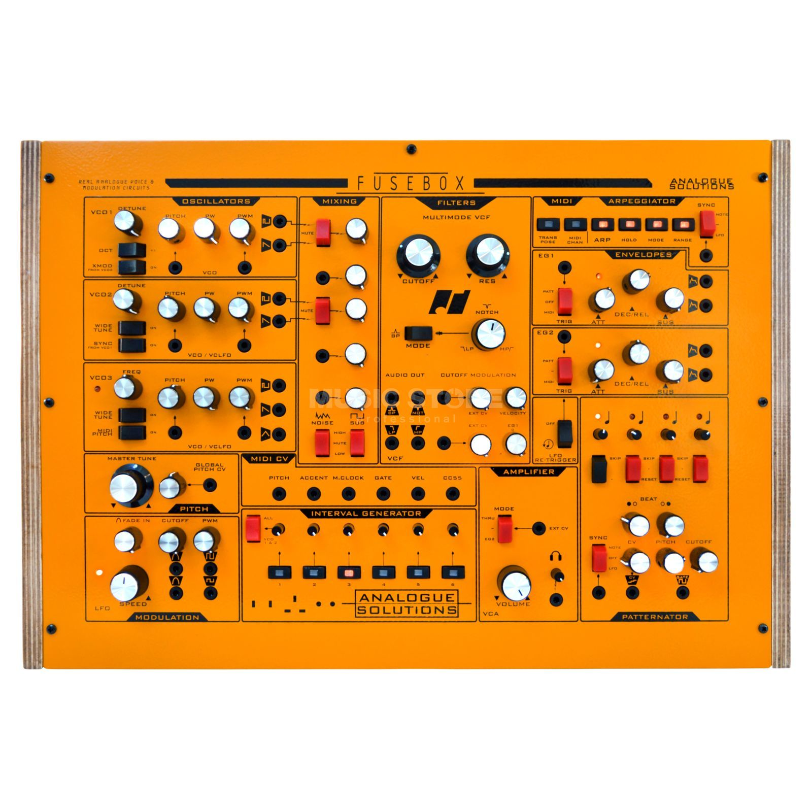 Analogue Solutions Fusebox Sub Fuse Box