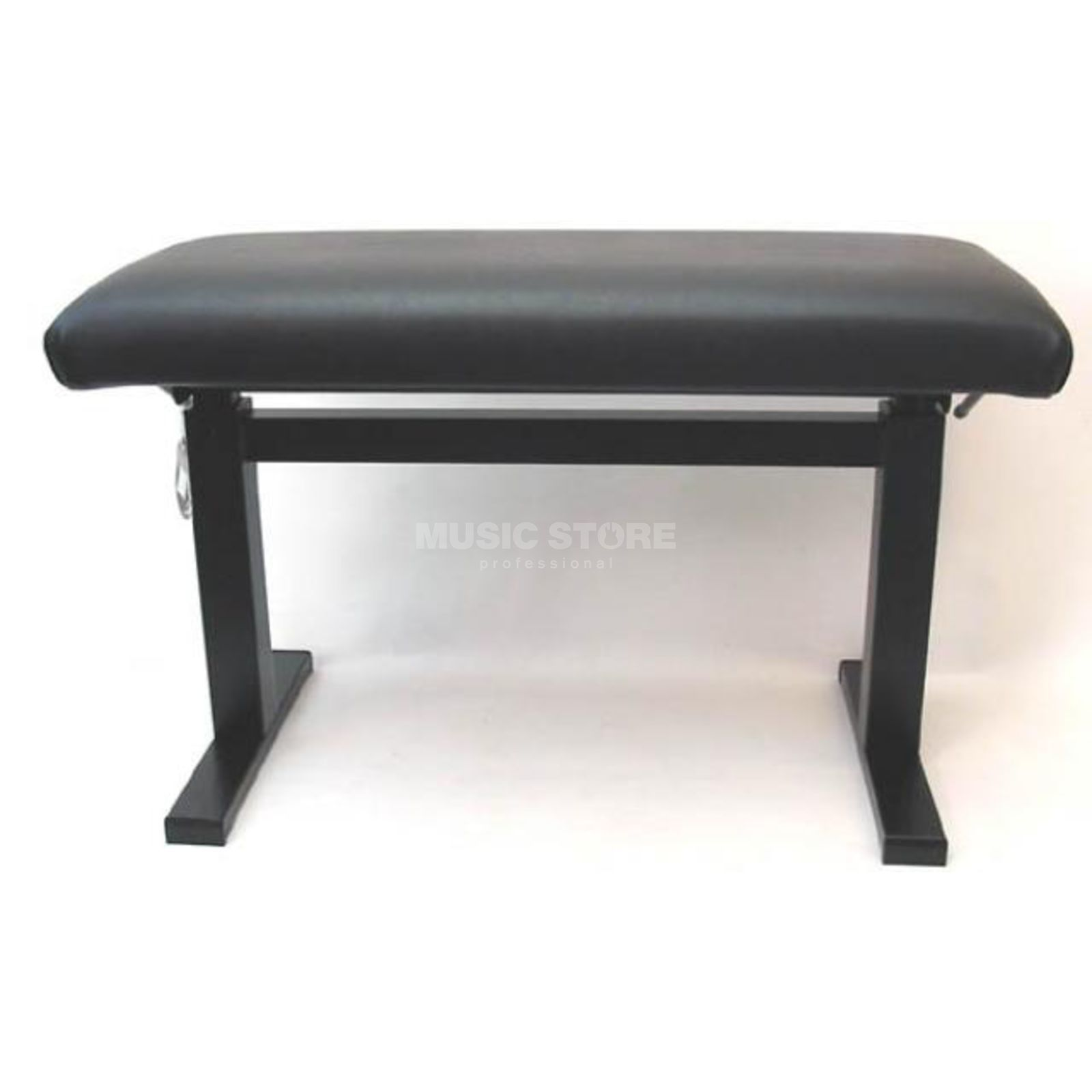 Andexinger Piano Bench Lift-O-Matic Mod. 484 Cover Genuinet Leather 75cm Produktbillede