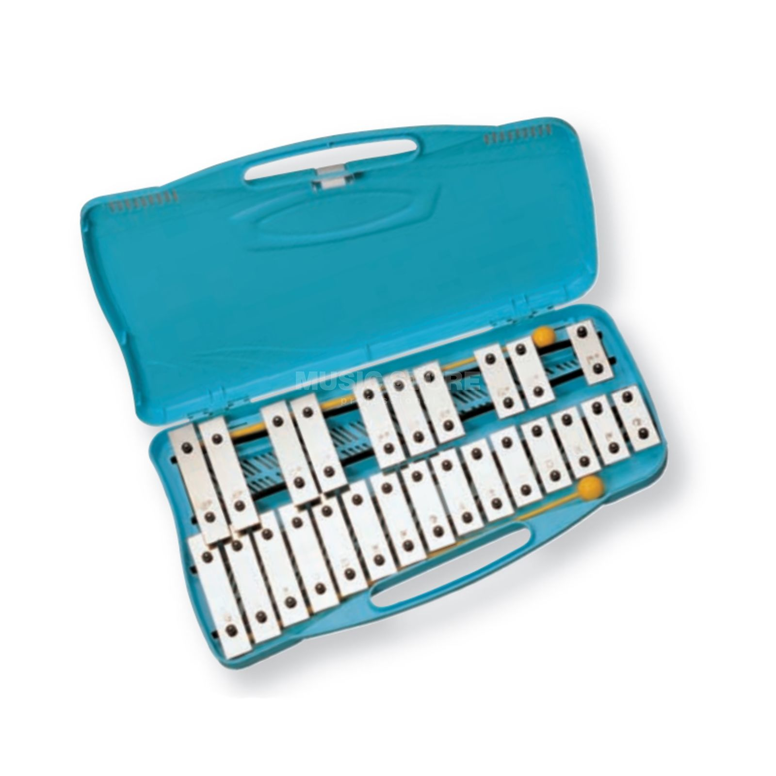 Angel Glockenspiel AX25K, G2-G4, 25 Note, Chrome Produktbild