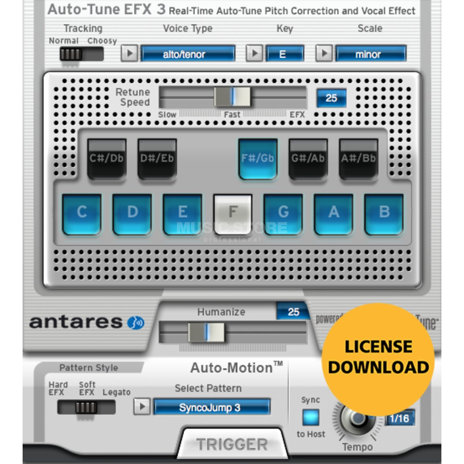 Antares Auto Tune EFX 3 (Download) Produktbild