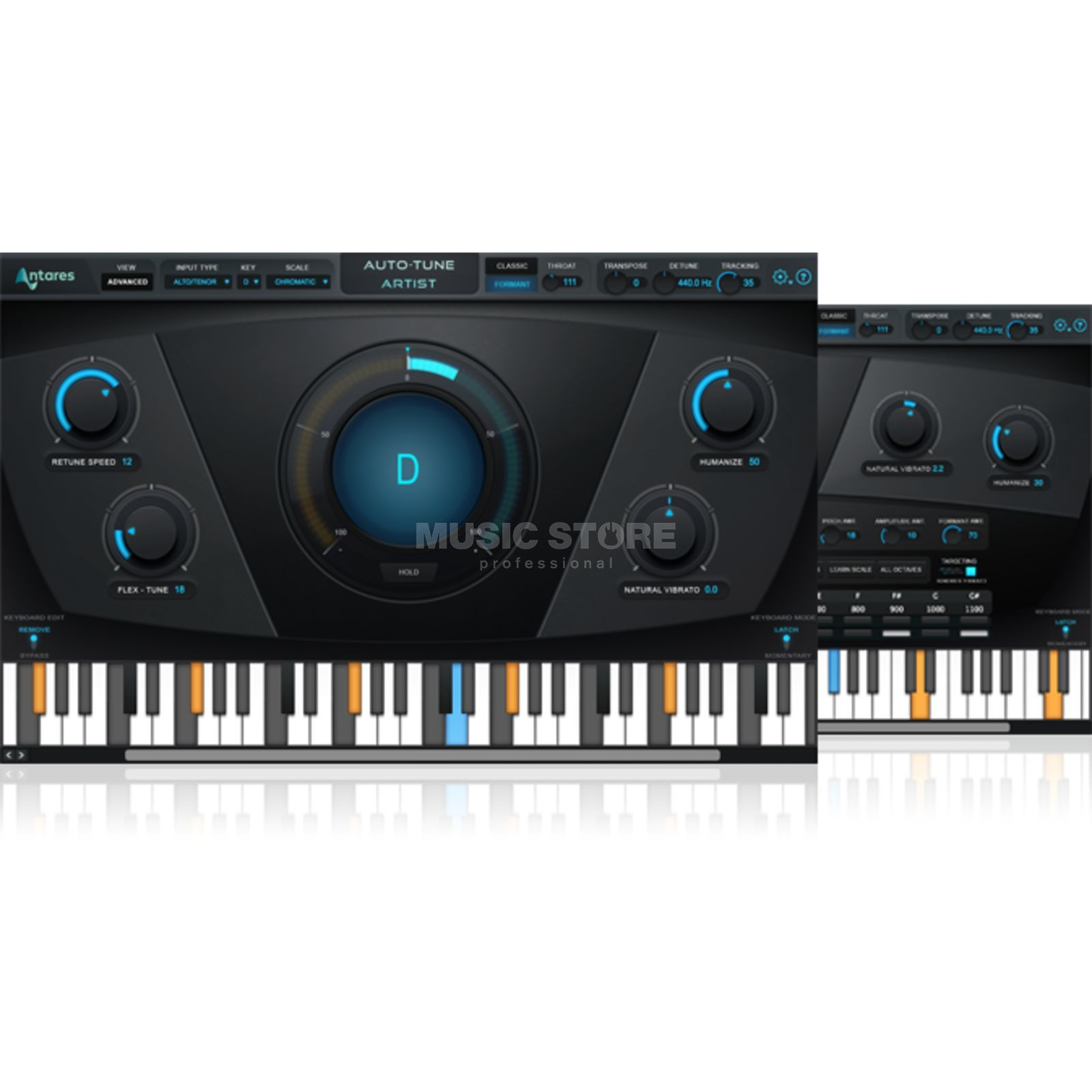 Antares Auto Tune Live Plug In - Download license Produktbillede