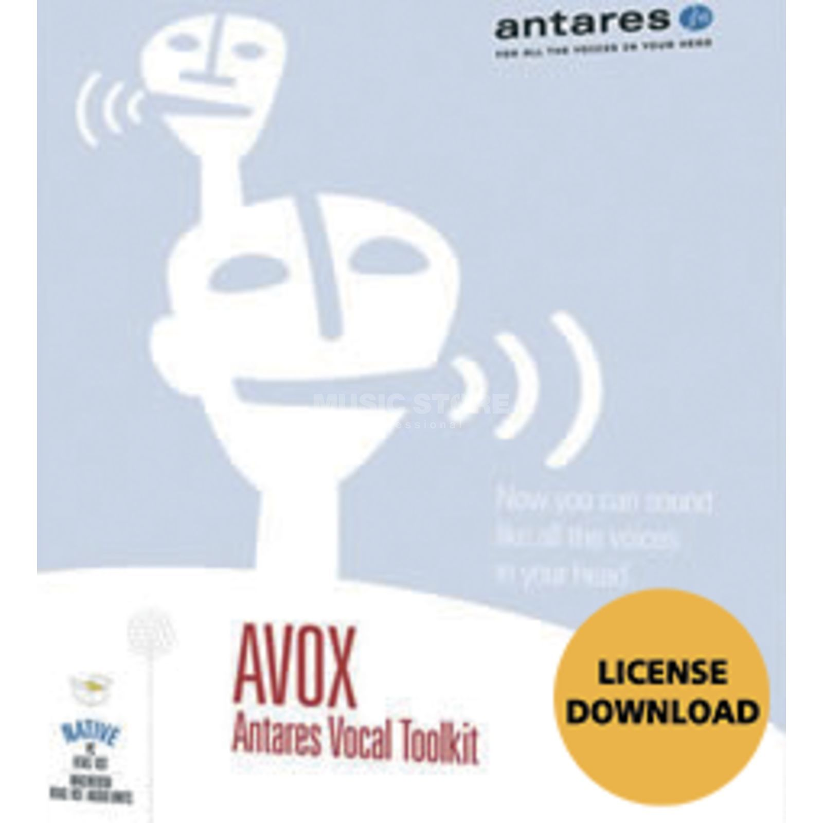 Antares AVOx - 4 Native Plug In - Download license Produktbillede